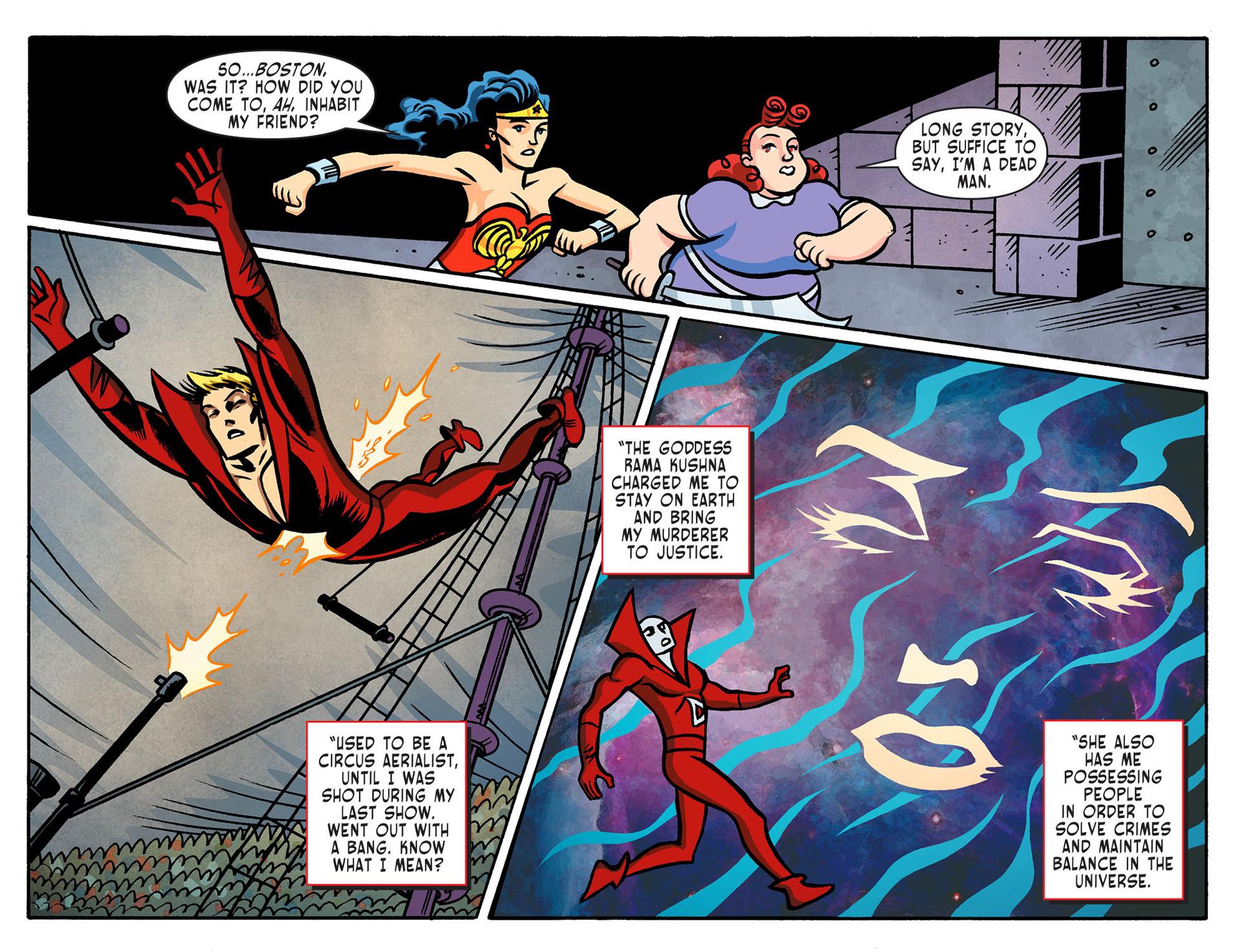 Read online Sensation Comics Featuring Wonder Woman comic -  Issue #8 - 11