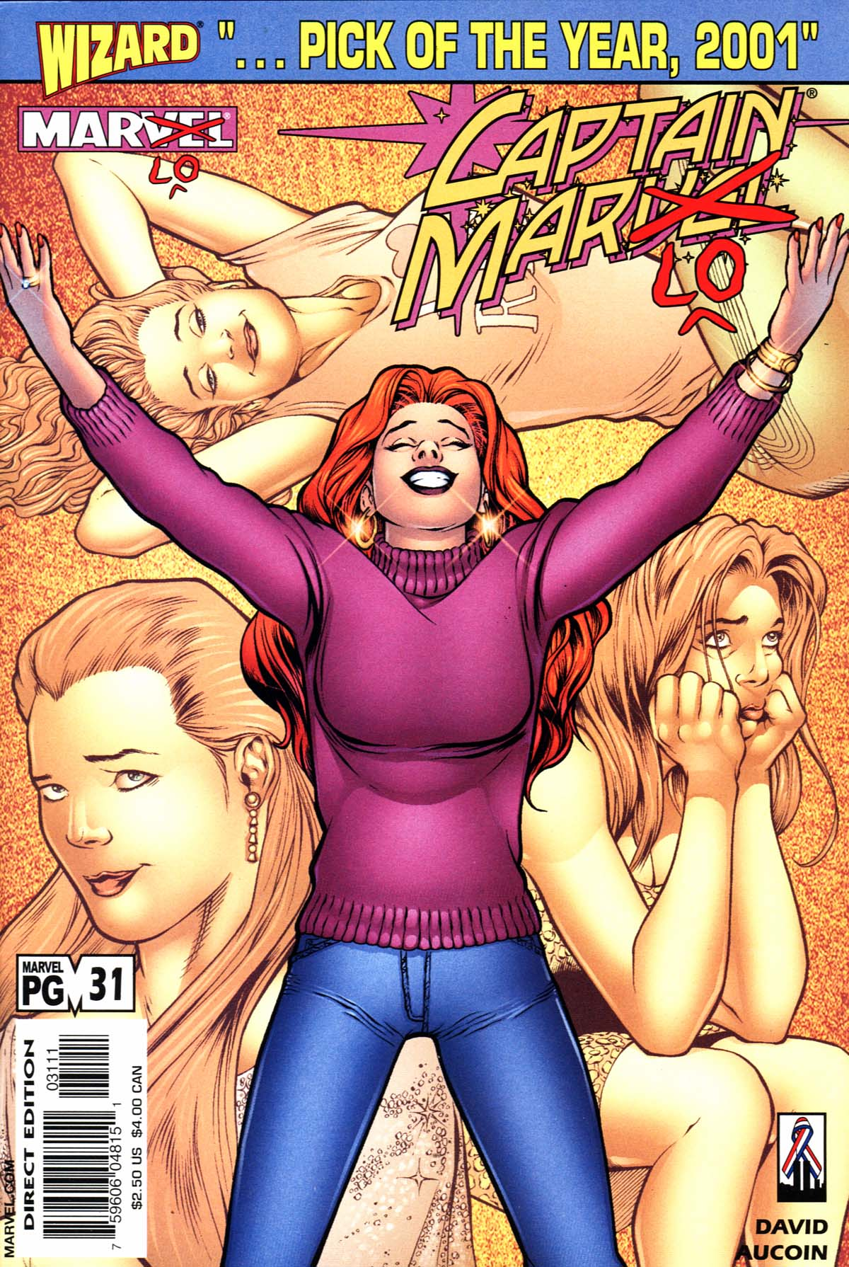 Captain Marvel (1999) 31 Page 1