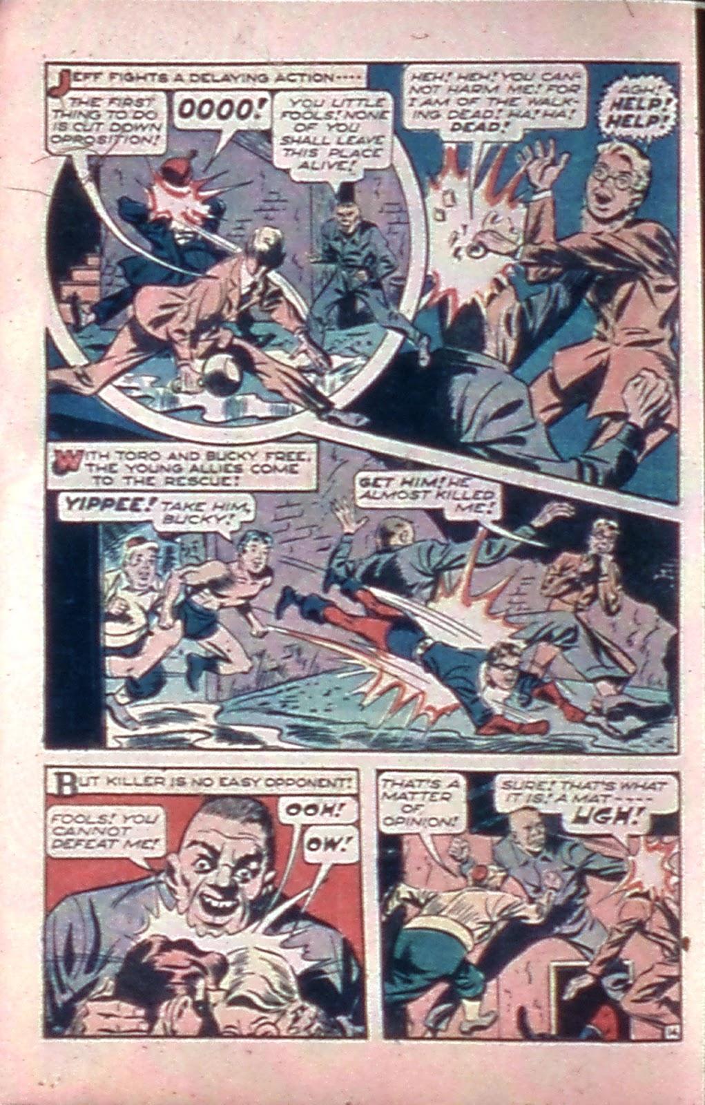 Read online Mystic Comics (1944) comic -  Issue #4 - 16