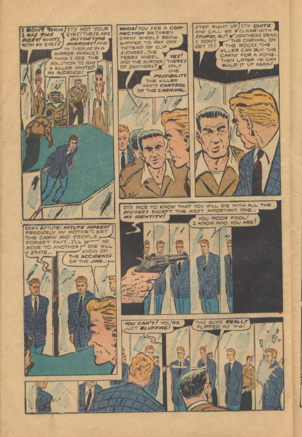 Read online Shadow Comics comic -  Issue #95 - 36