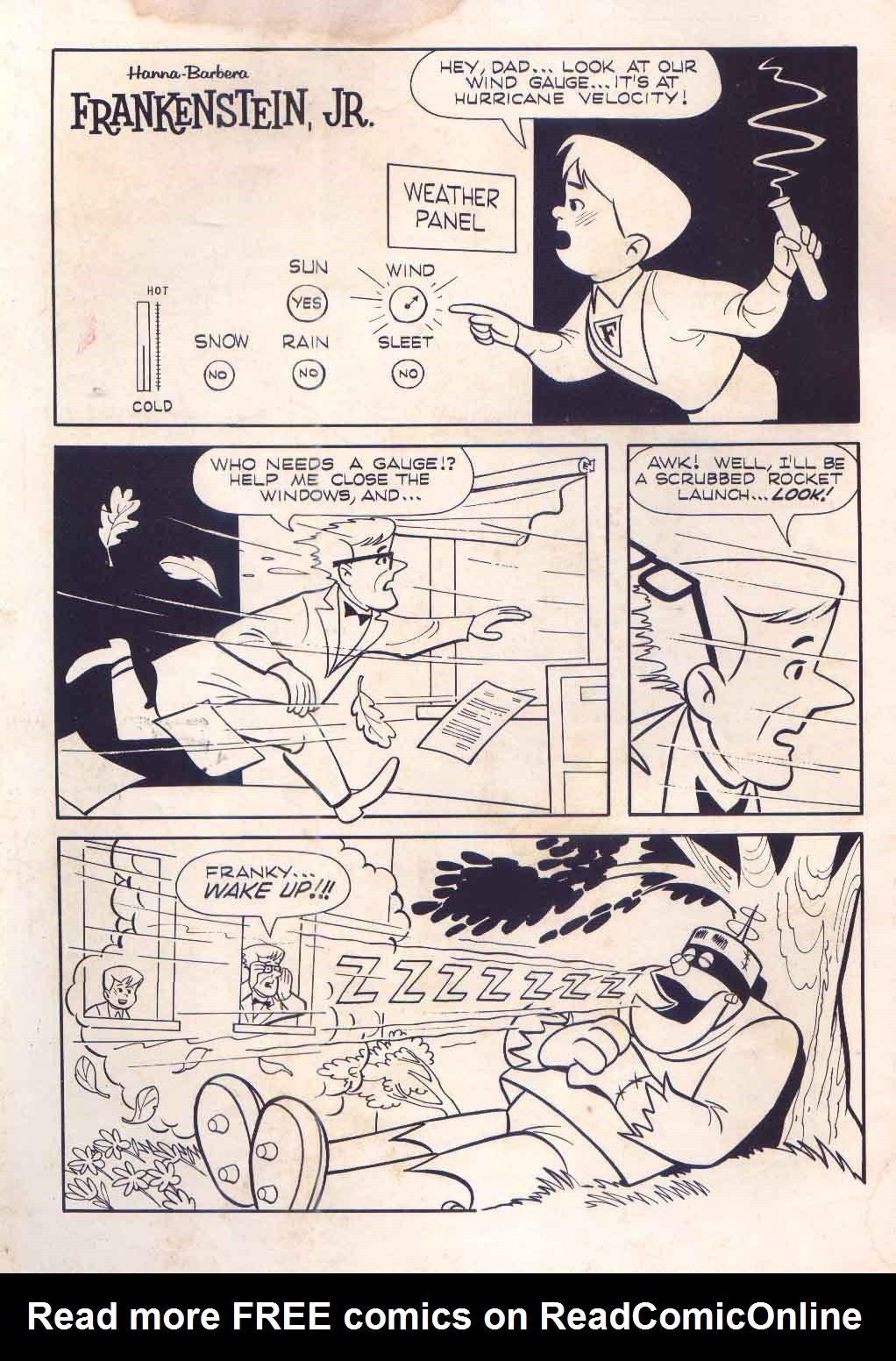 Read online Frankenstein, Jr. comic -  Issue # Full - 2