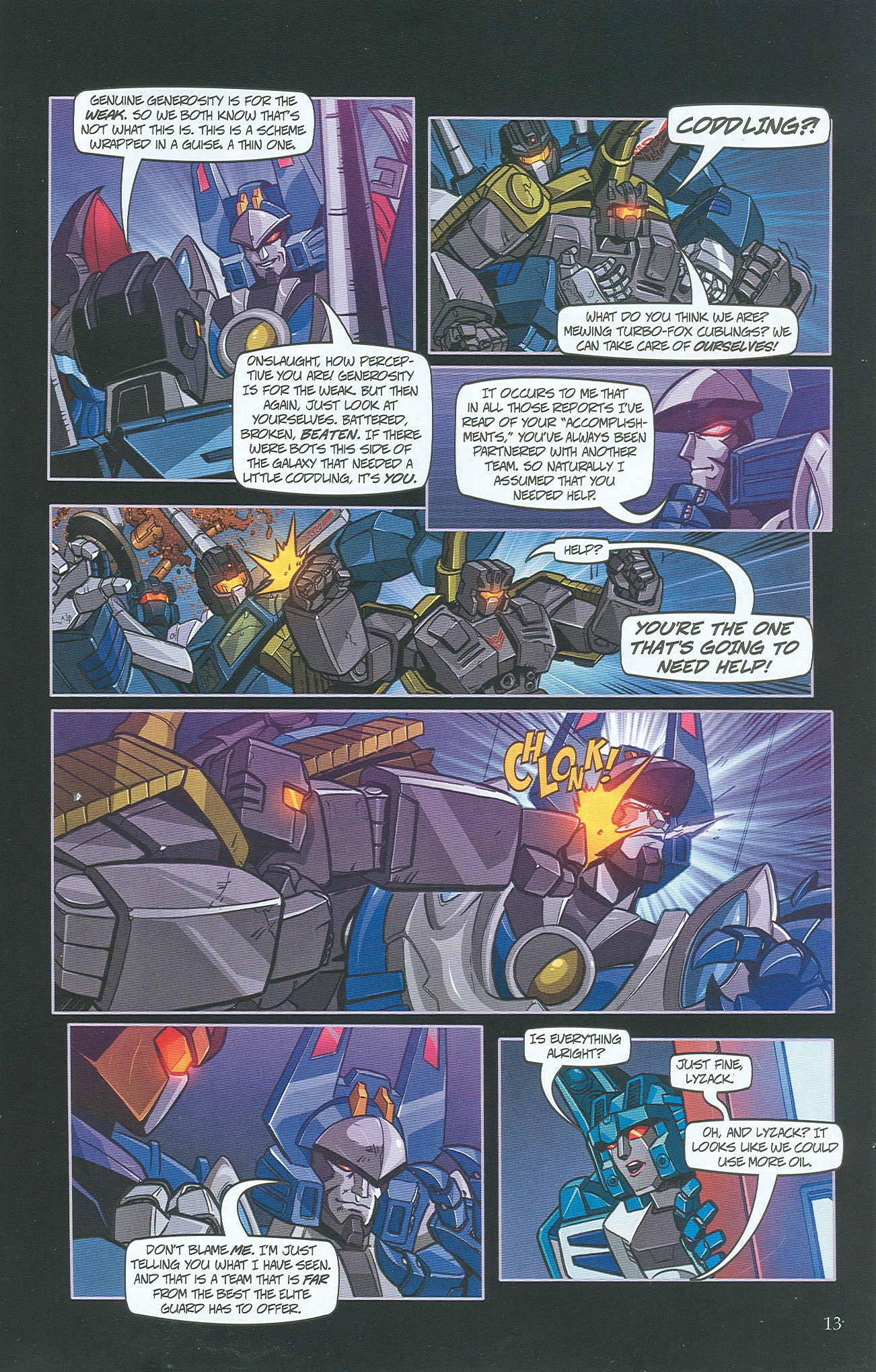 Read online Transformers: Collectors' Club comic -  Issue #34 - 13