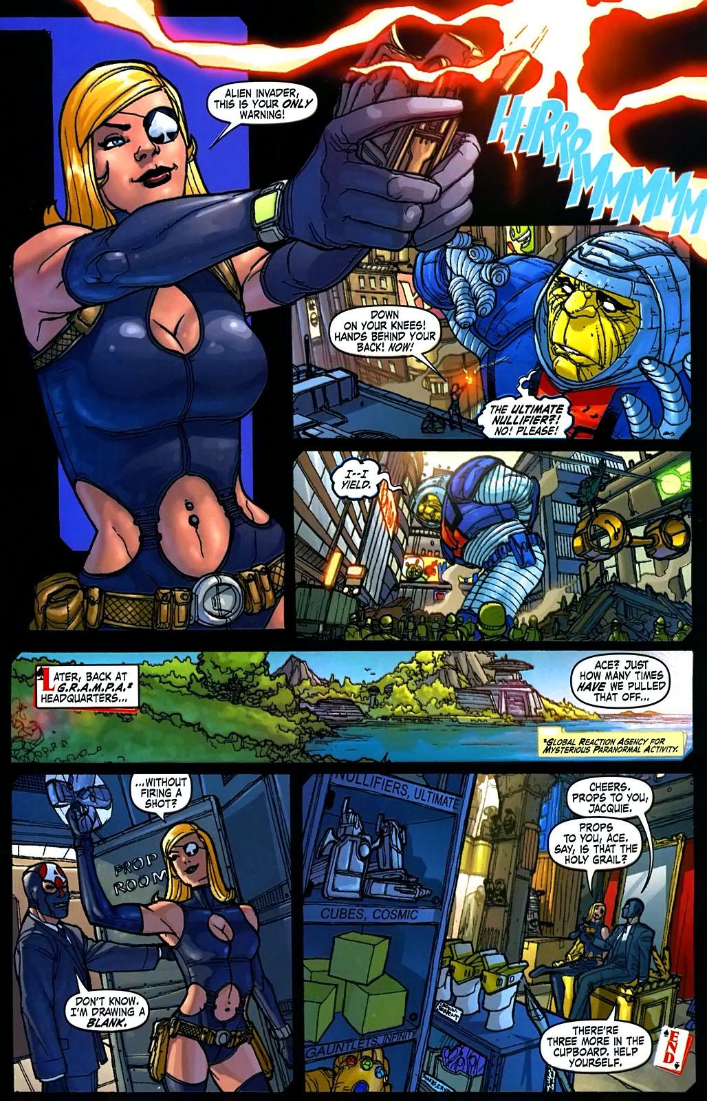 Read online Amazing Fantasy (2004) comic -  Issue #15 - 22