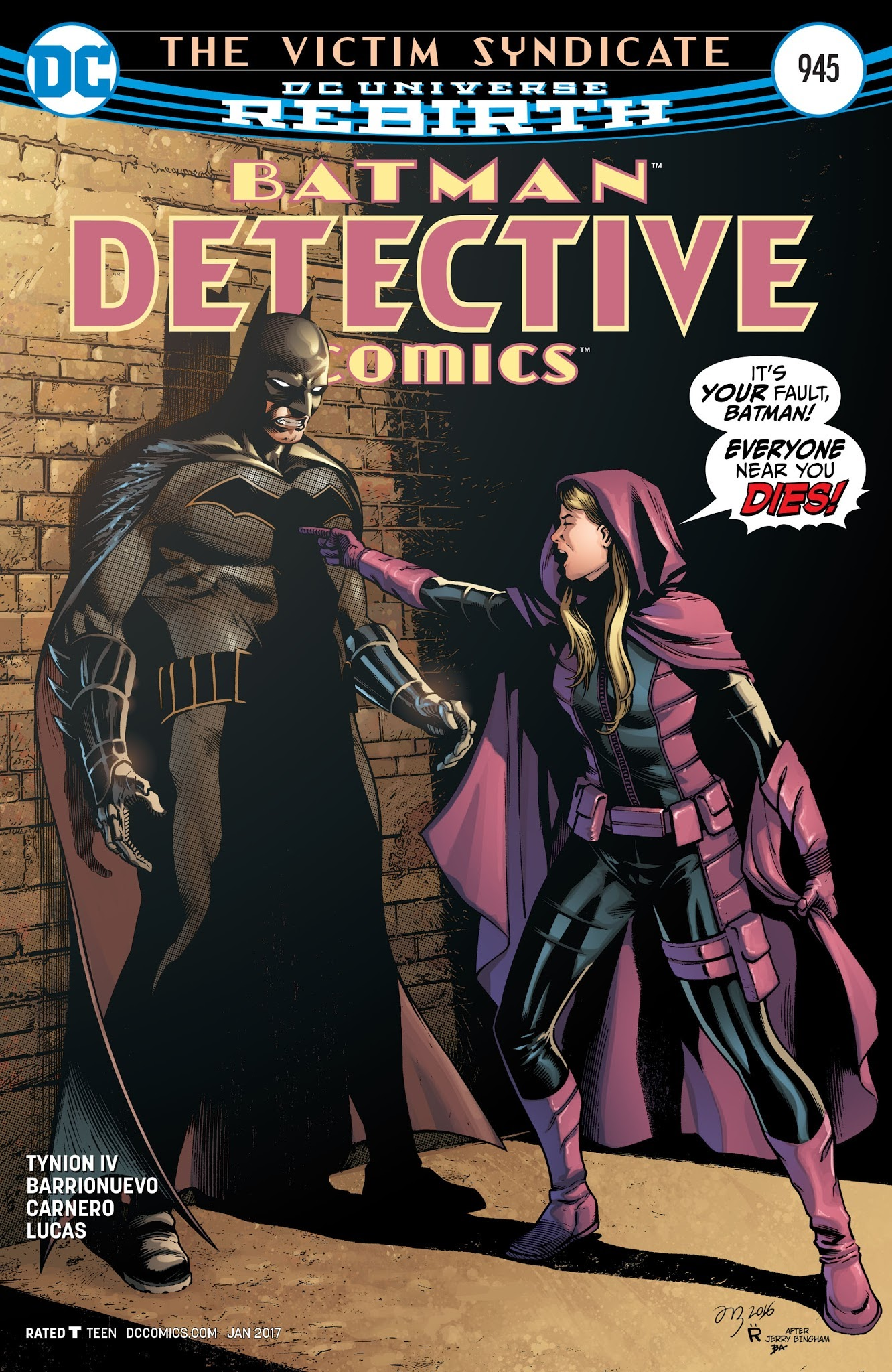 Detective Comics (1937) 945 Page 1