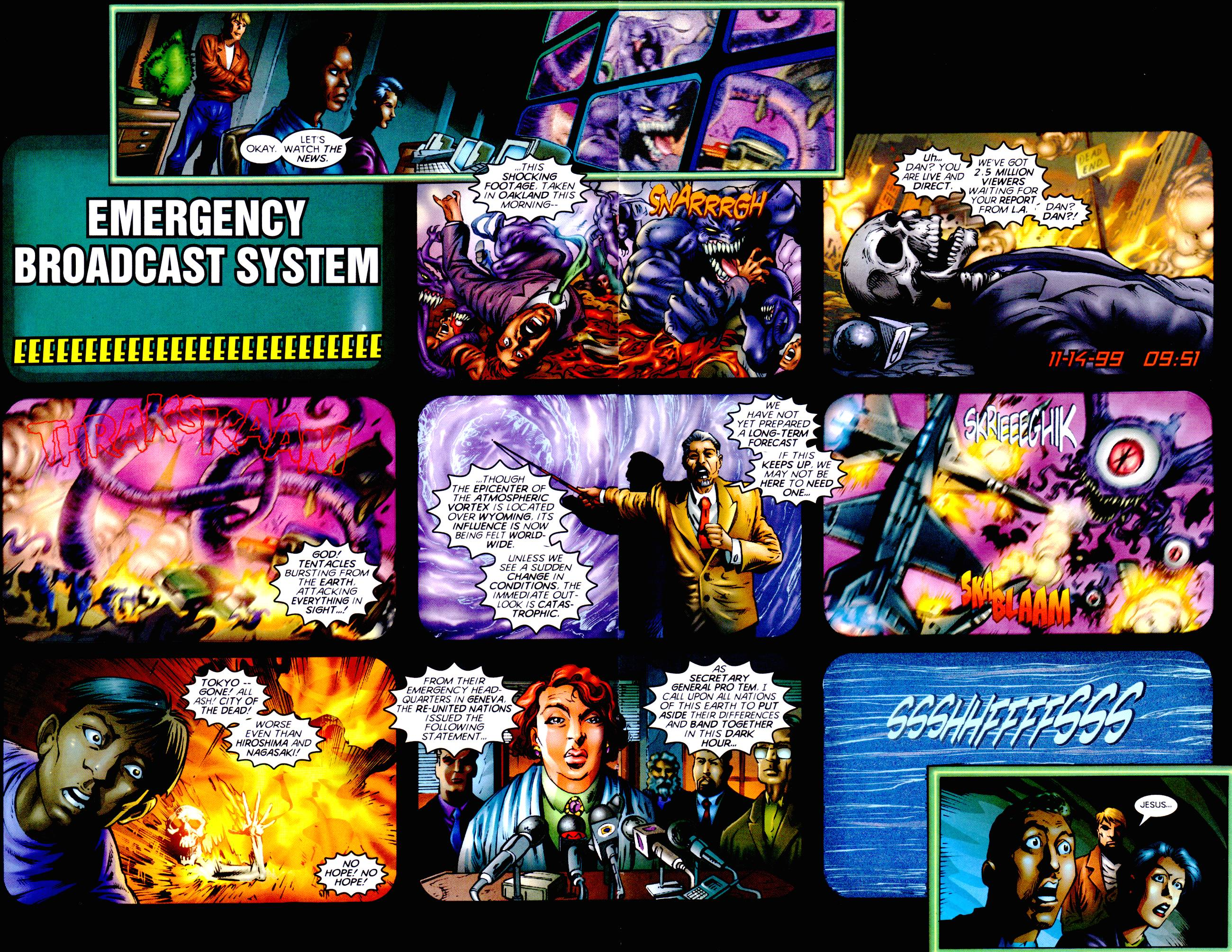Read online Armageddon (1999) comic -  Issue #3 - 7
