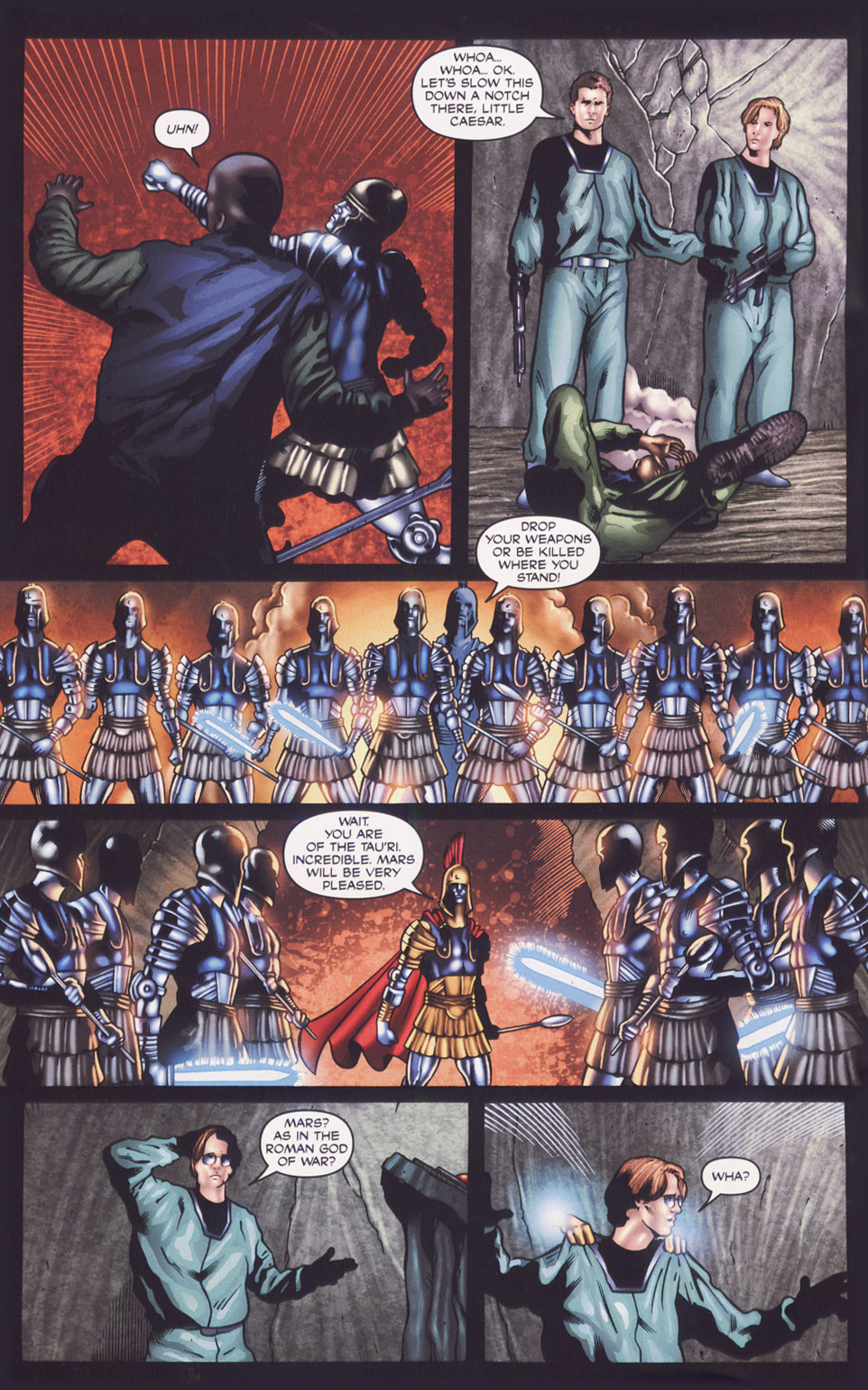 Read online Stargate SG-1: Fall of Rome comic -  Issue #1 - 21