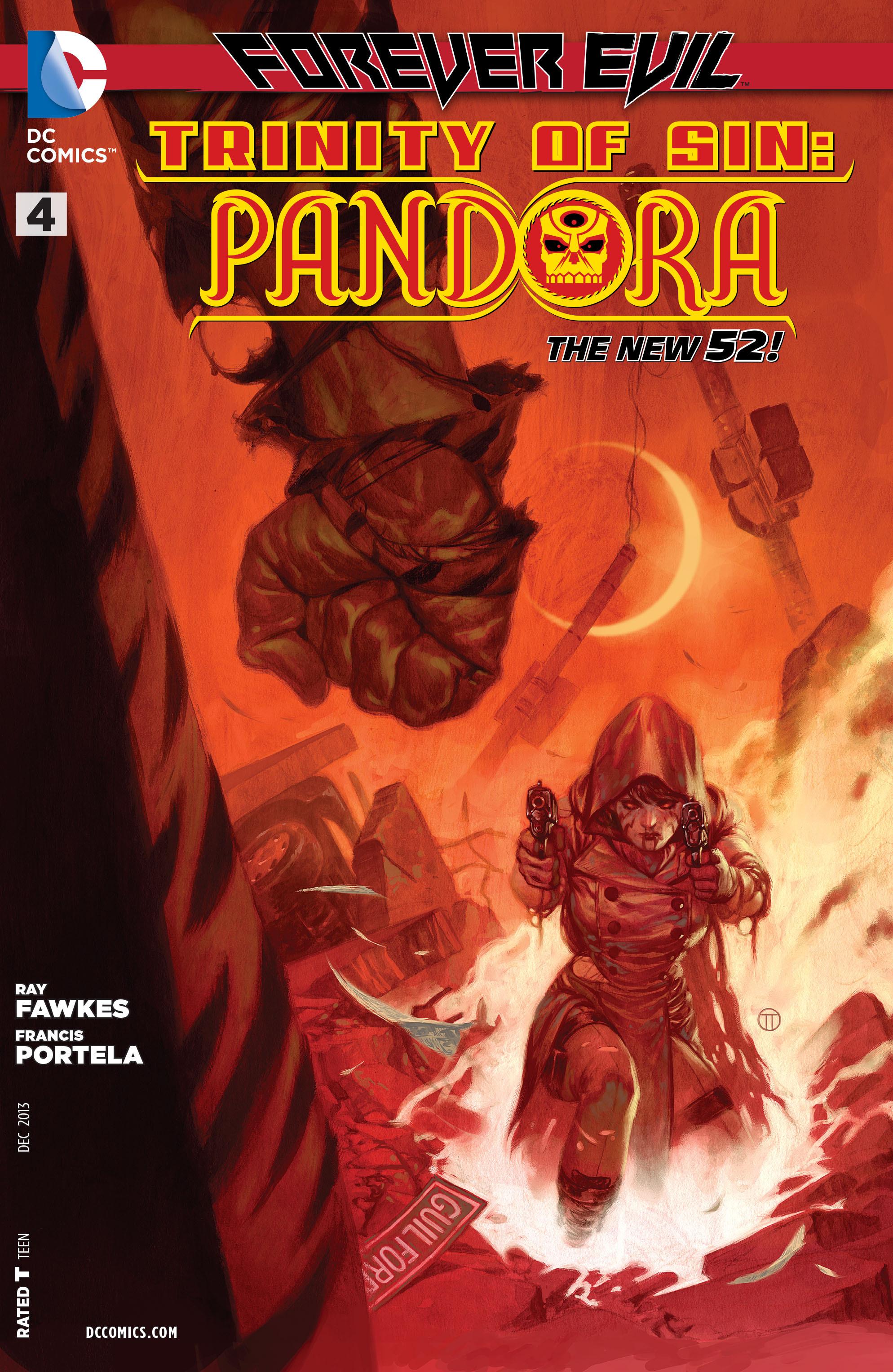Read online Trinity of Sin: Pandora comic -  Issue #4 - 1