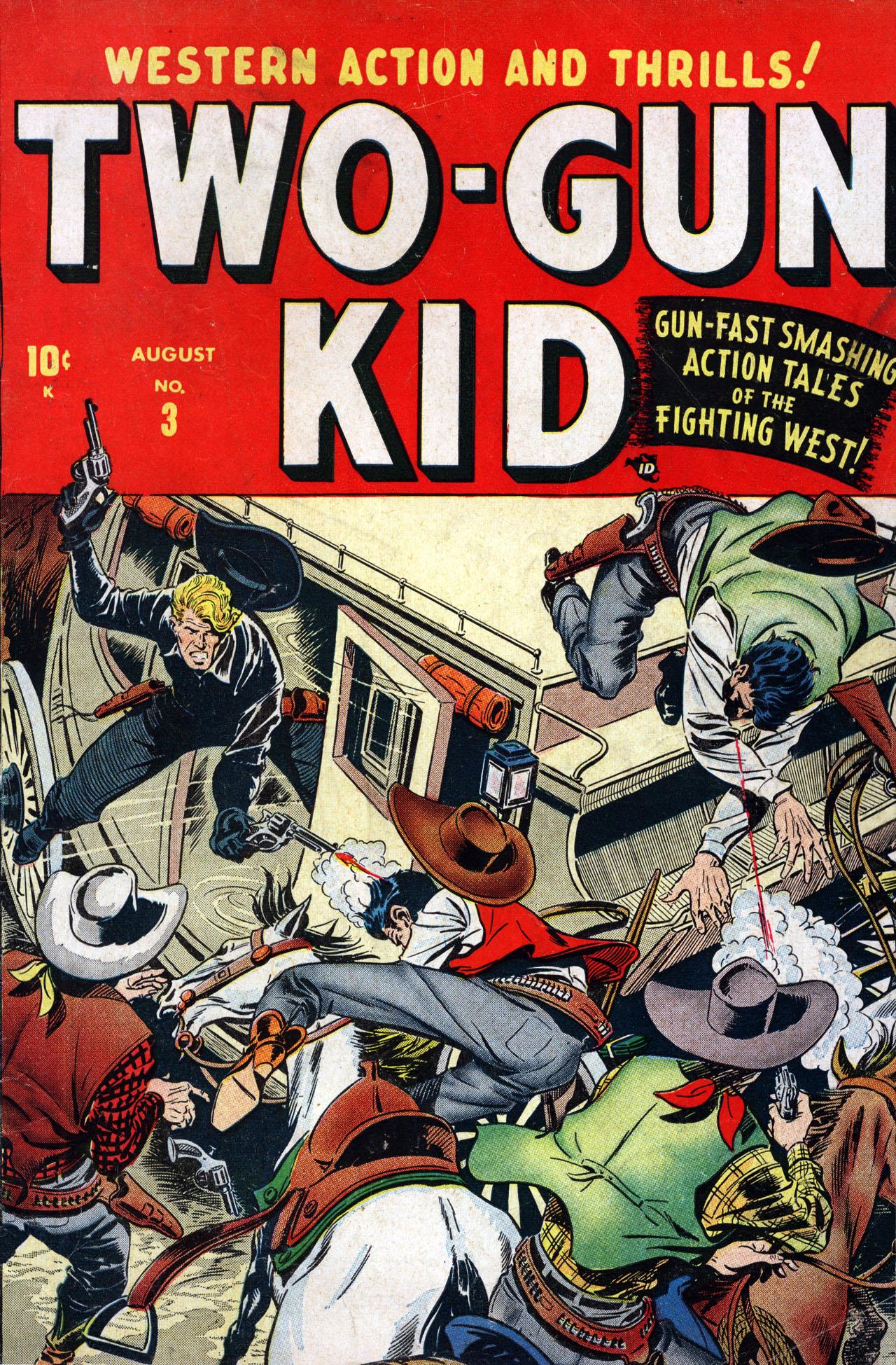 Read online Two-Gun Kid comic -  Issue #3 - 1