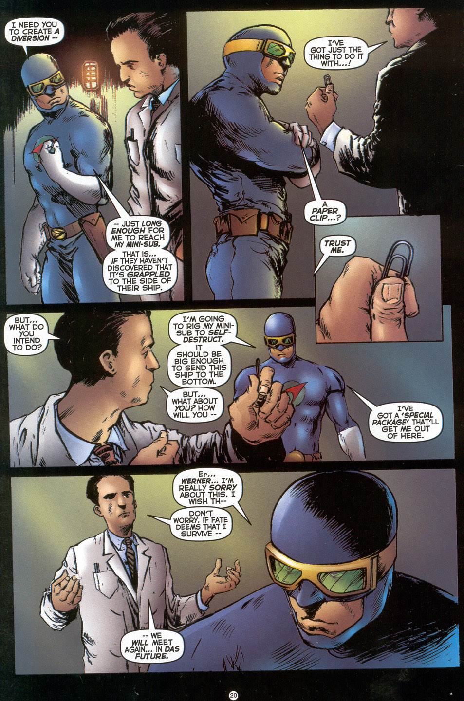 Read online Doctor Tomorrow comic -  Issue #3 - 17