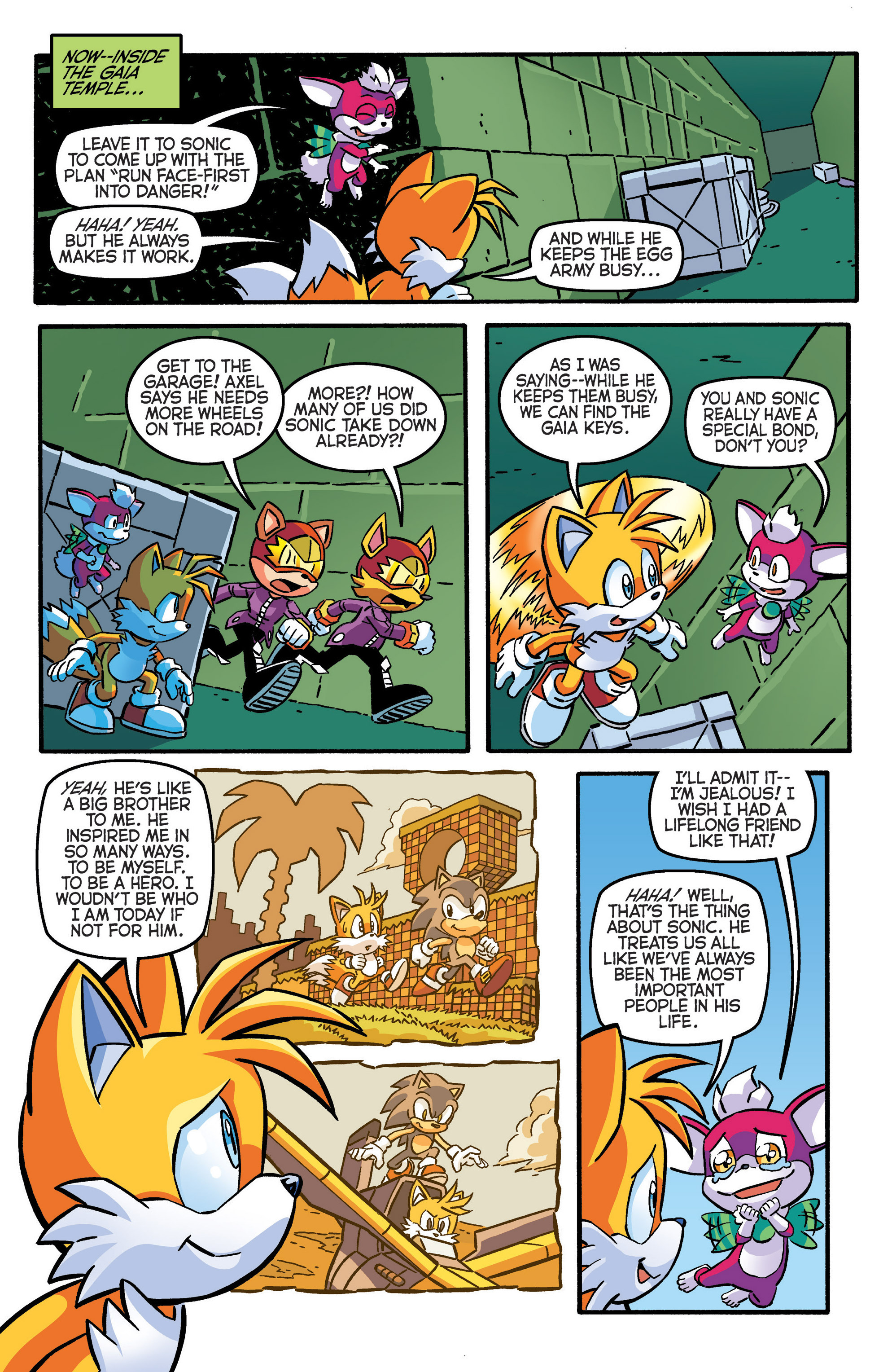 Read online Sonic The Hedgehog comic -  Issue #280 - 7
