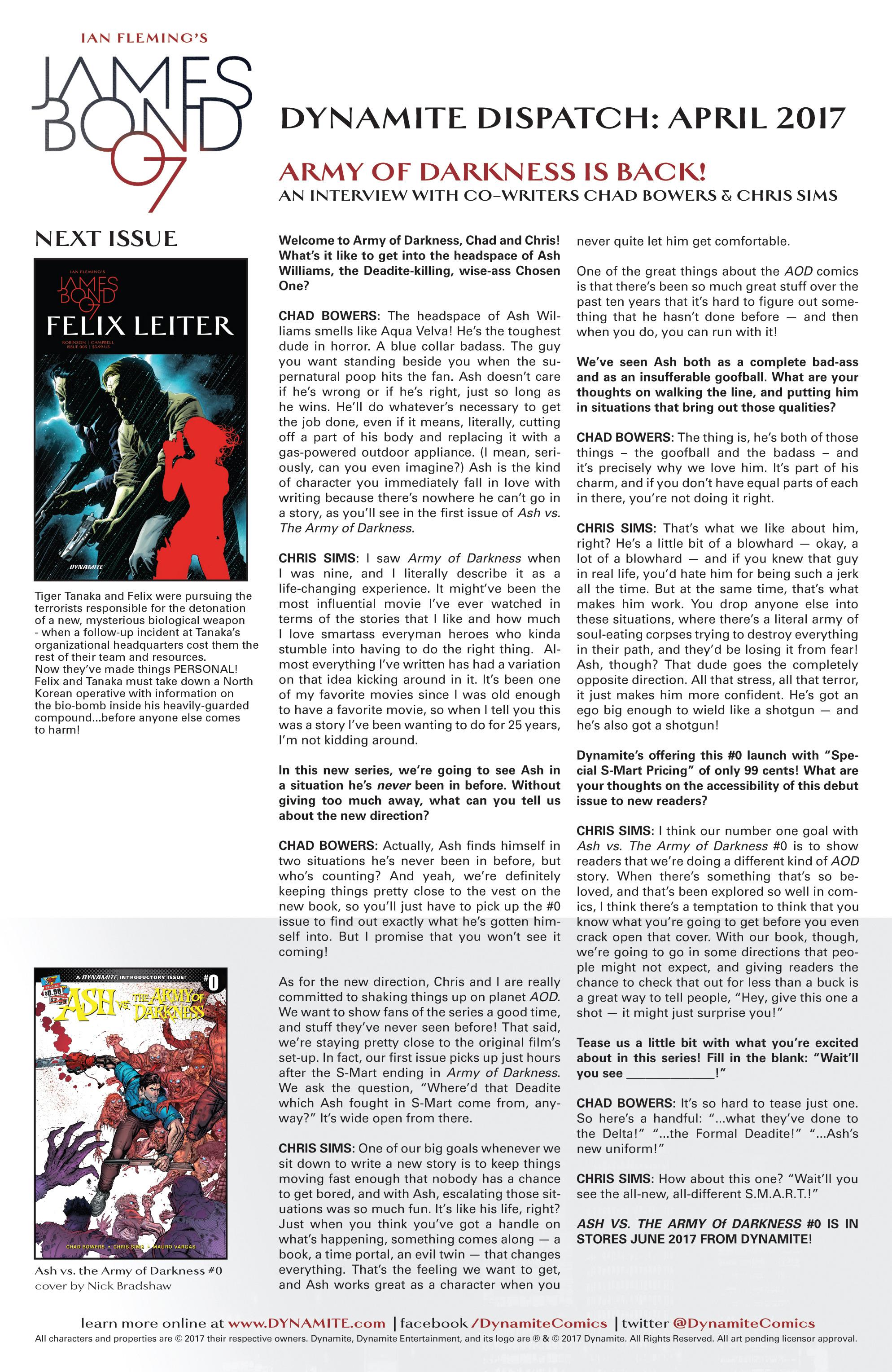 Read online James Bond: Felix Leiter comic -  Issue #4 - 21