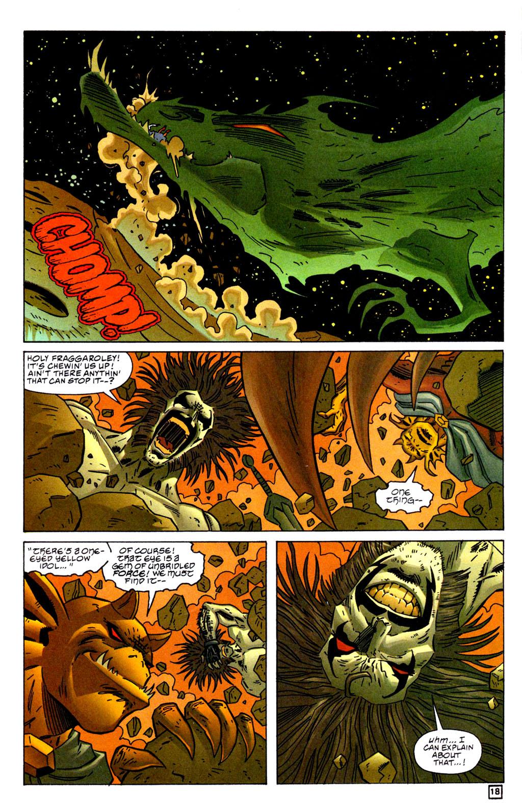 Read online Lobo/Demon: Hellowe'en comic -  Issue # Full - 19