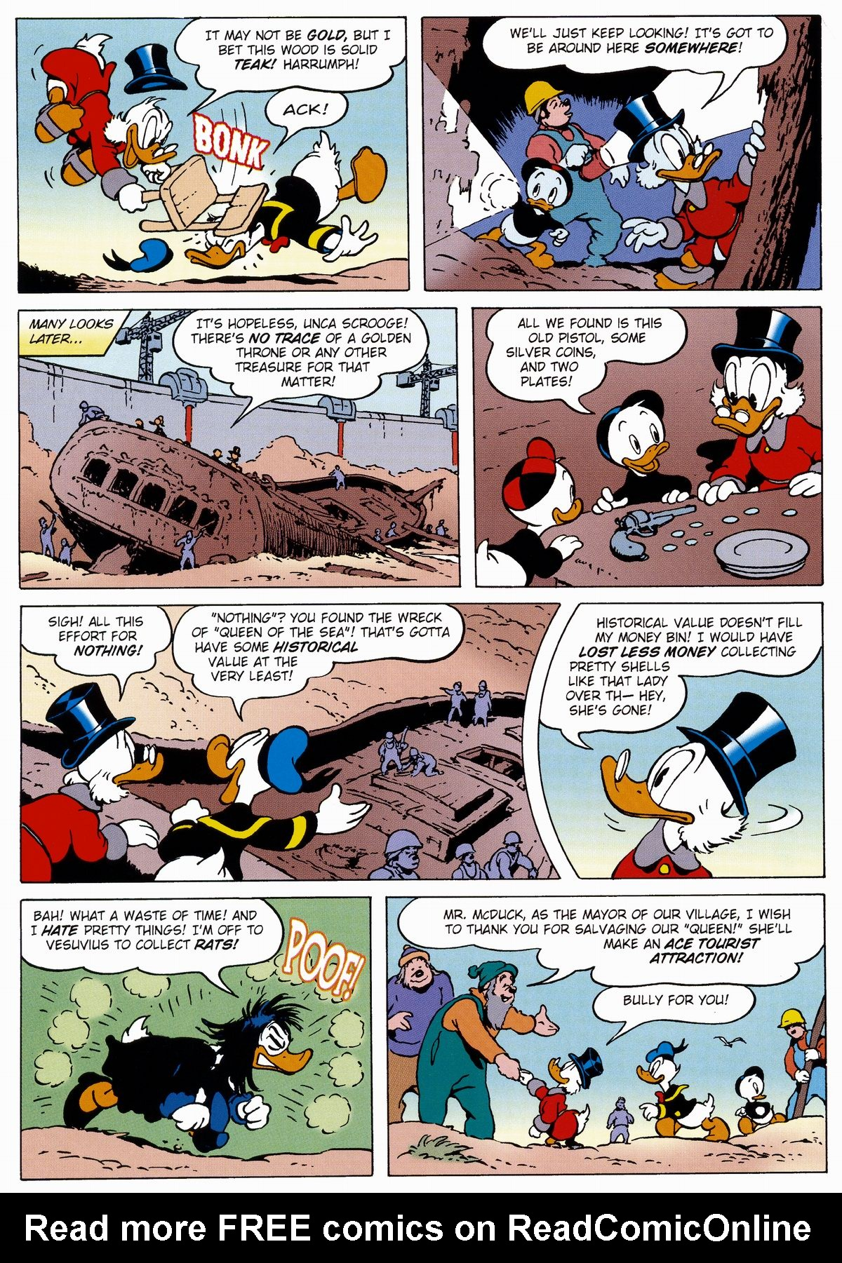 Read online Uncle Scrooge (1953) comic -  Issue #327 - 16