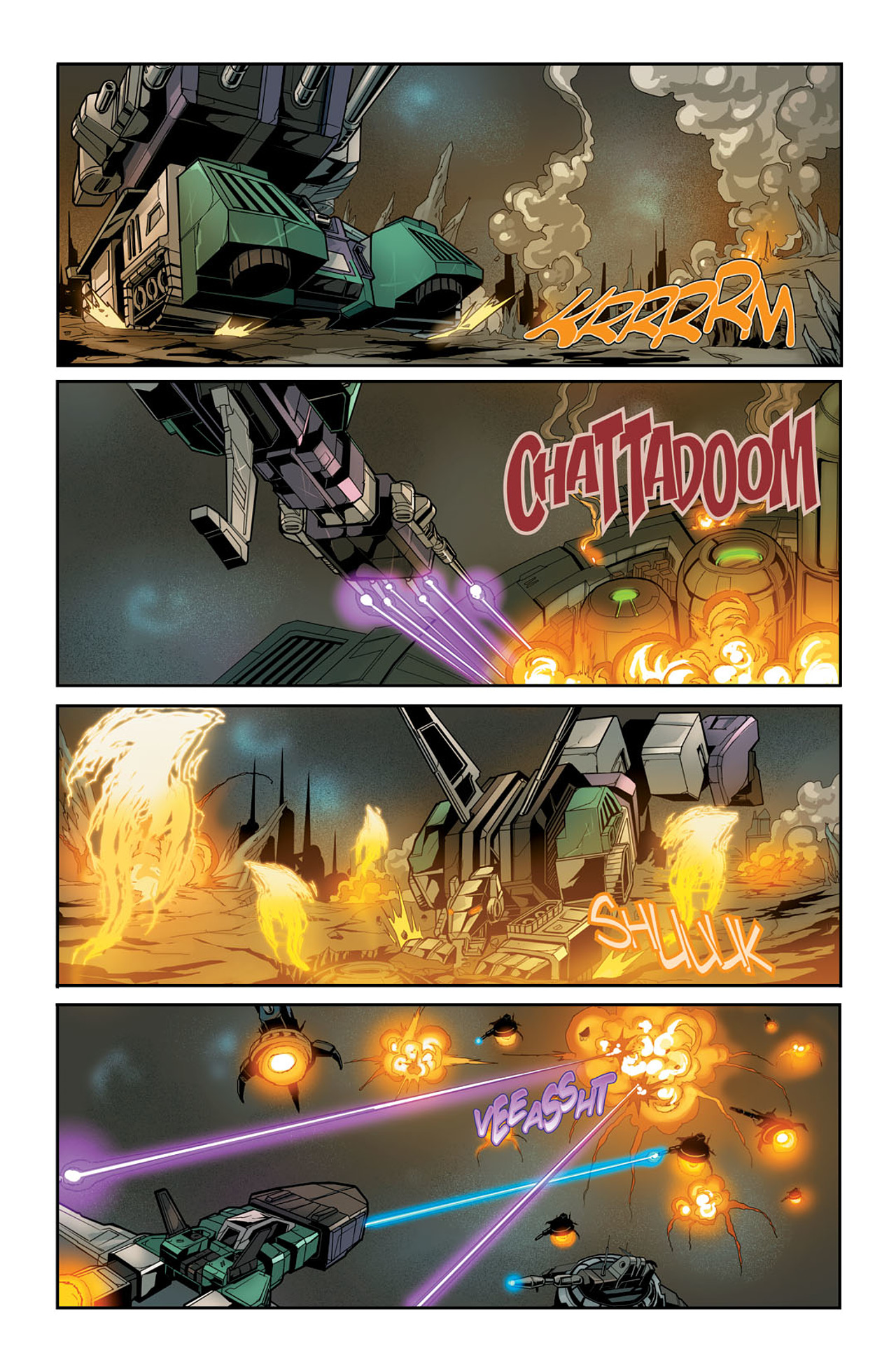 Read online Transformers Spotlight: Sixshot comic -  Issue # Full - 5