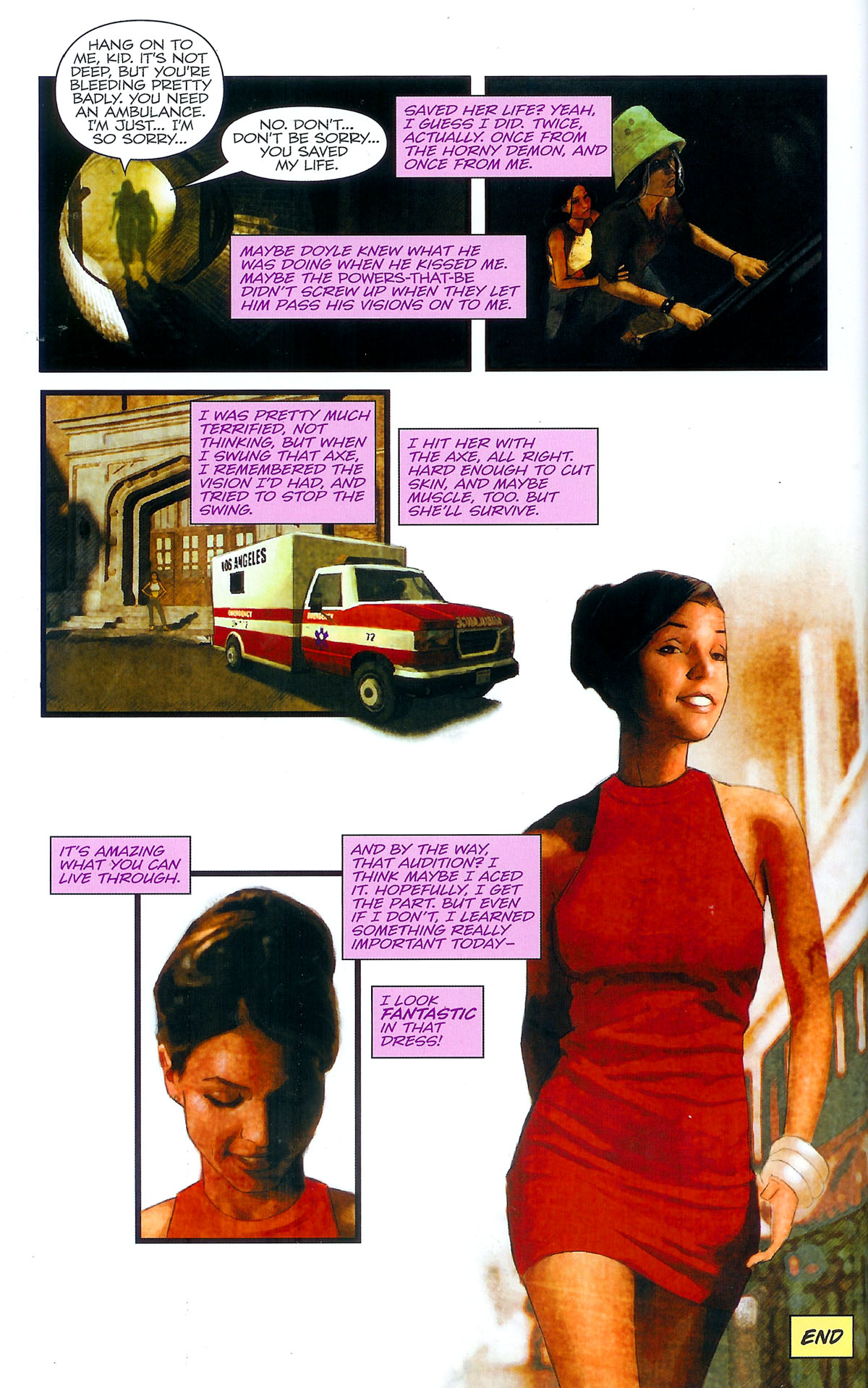 Read online Angel: Masks comic -  Issue # Full - 38