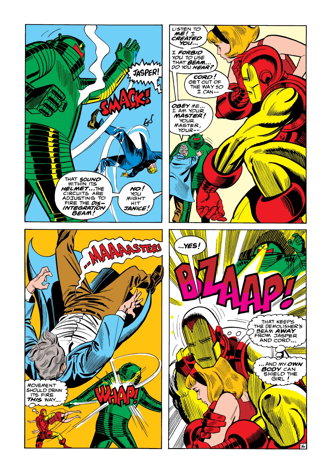 Read online Marvel Masterworks: The Invincible Iron Man comic -  Issue # TPB 5 (Part 1) - 23