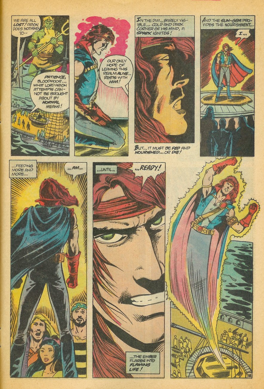 Read online Arion, Lord of Atlantis comic -  Issue #21 - 19