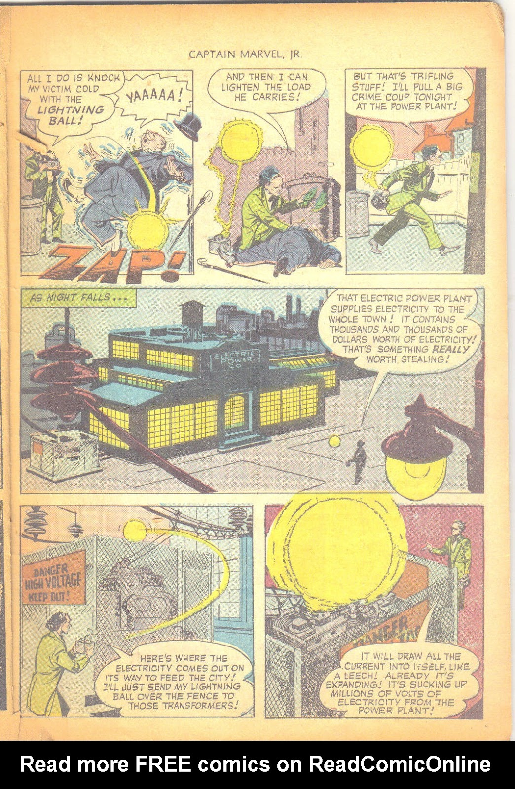 Captain Marvel, Jr. issue 95 - Page 6