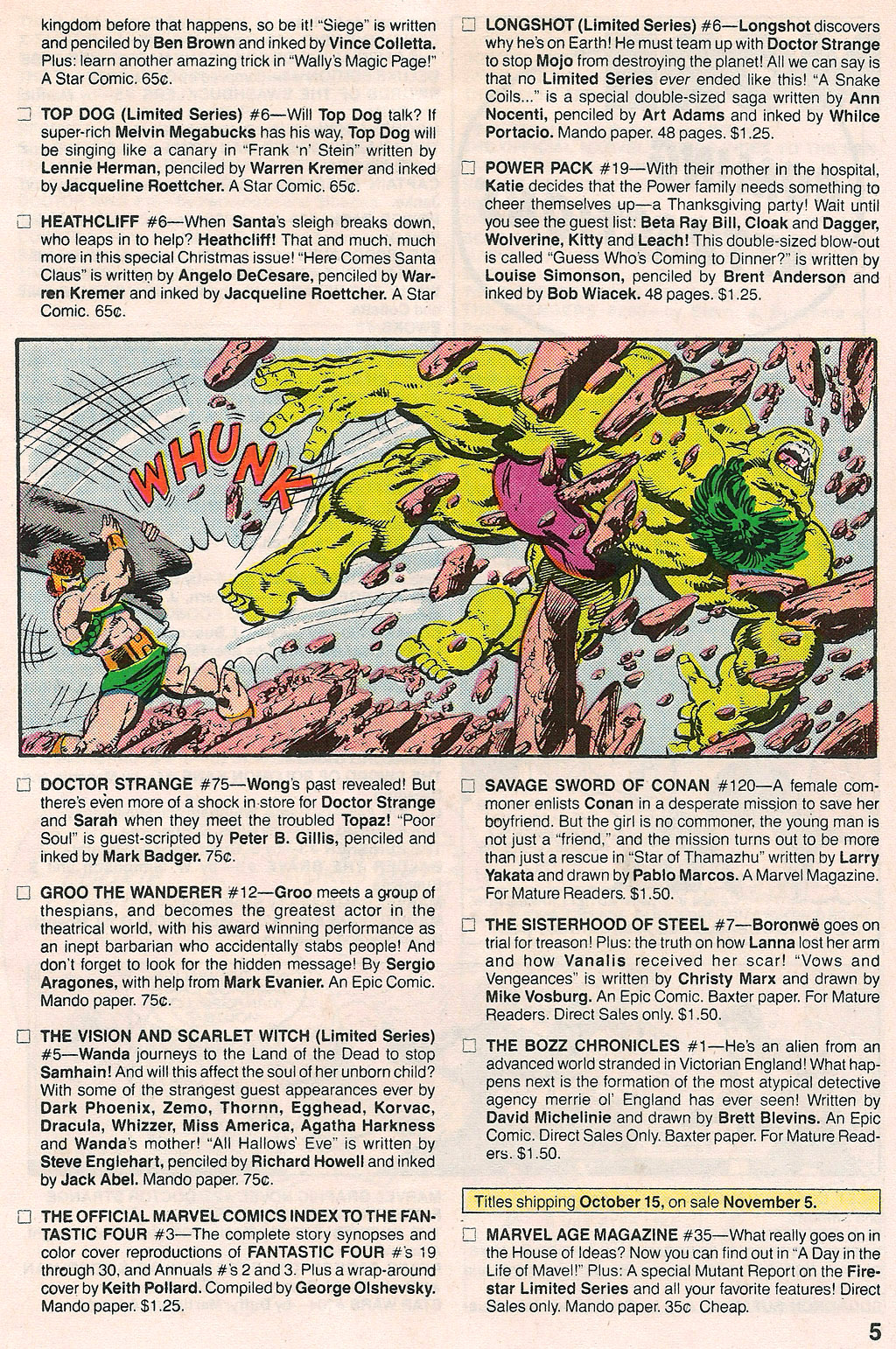 Comic Marvel Age issue 38