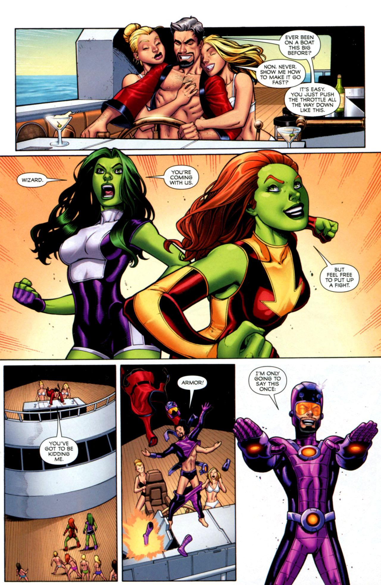Read online She-Hulks comic -  Issue #1 - 19