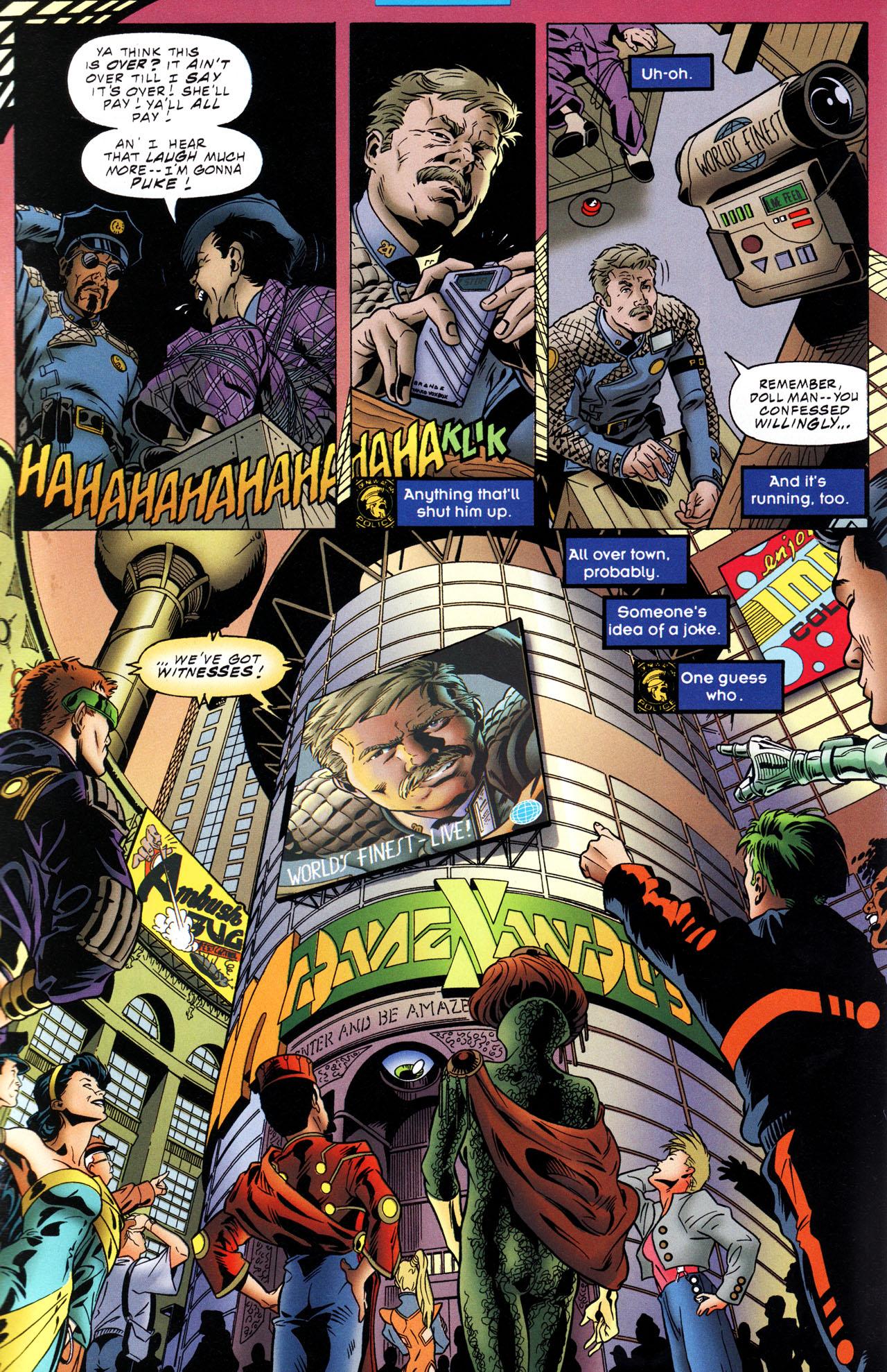 Read online Tangent Comics/ The Joker comic -  Issue # Full - 8