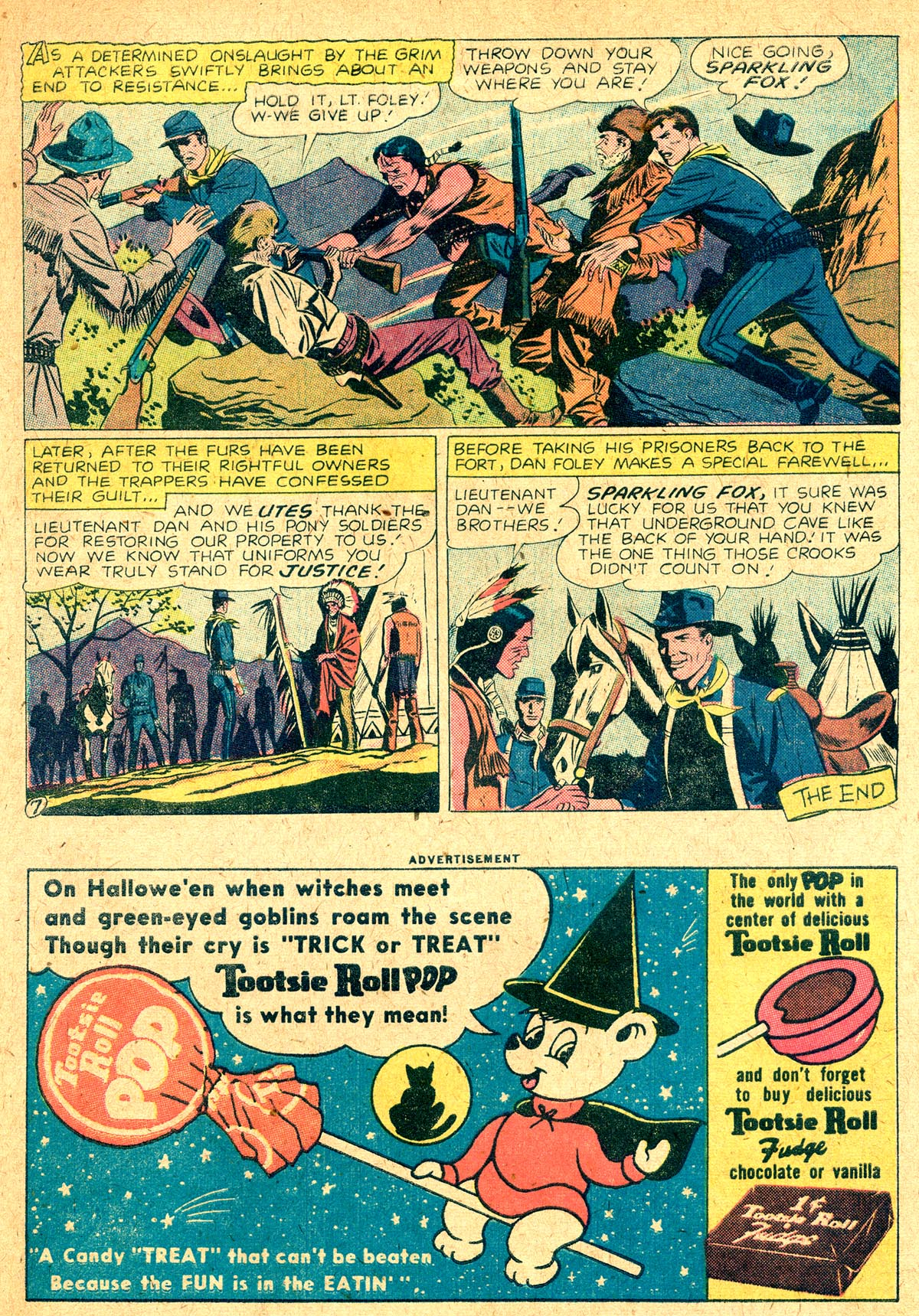Read online All-Star Western (1951) comic -  Issue #104 - 21