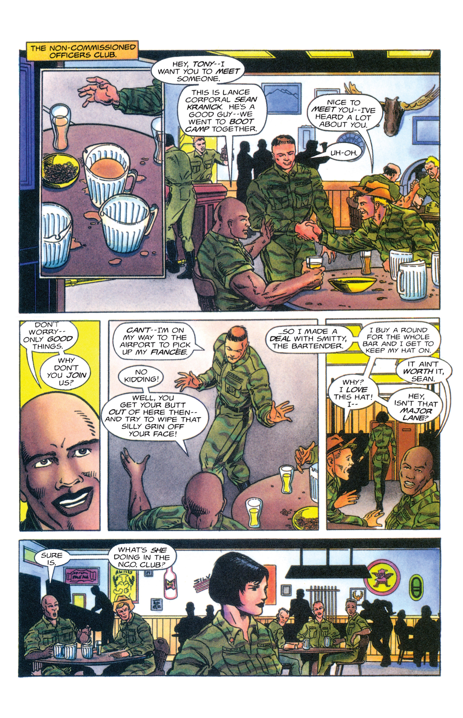 Read online Armorines comic -  Issue #4 - 12