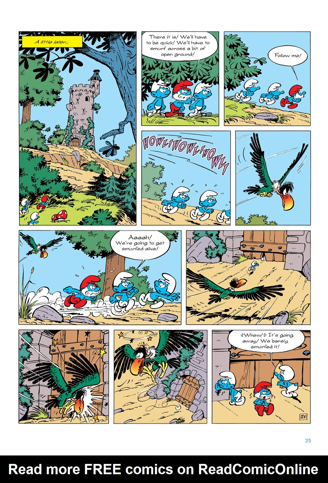 Read online The Smurfs comic -  Issue #6 - 25