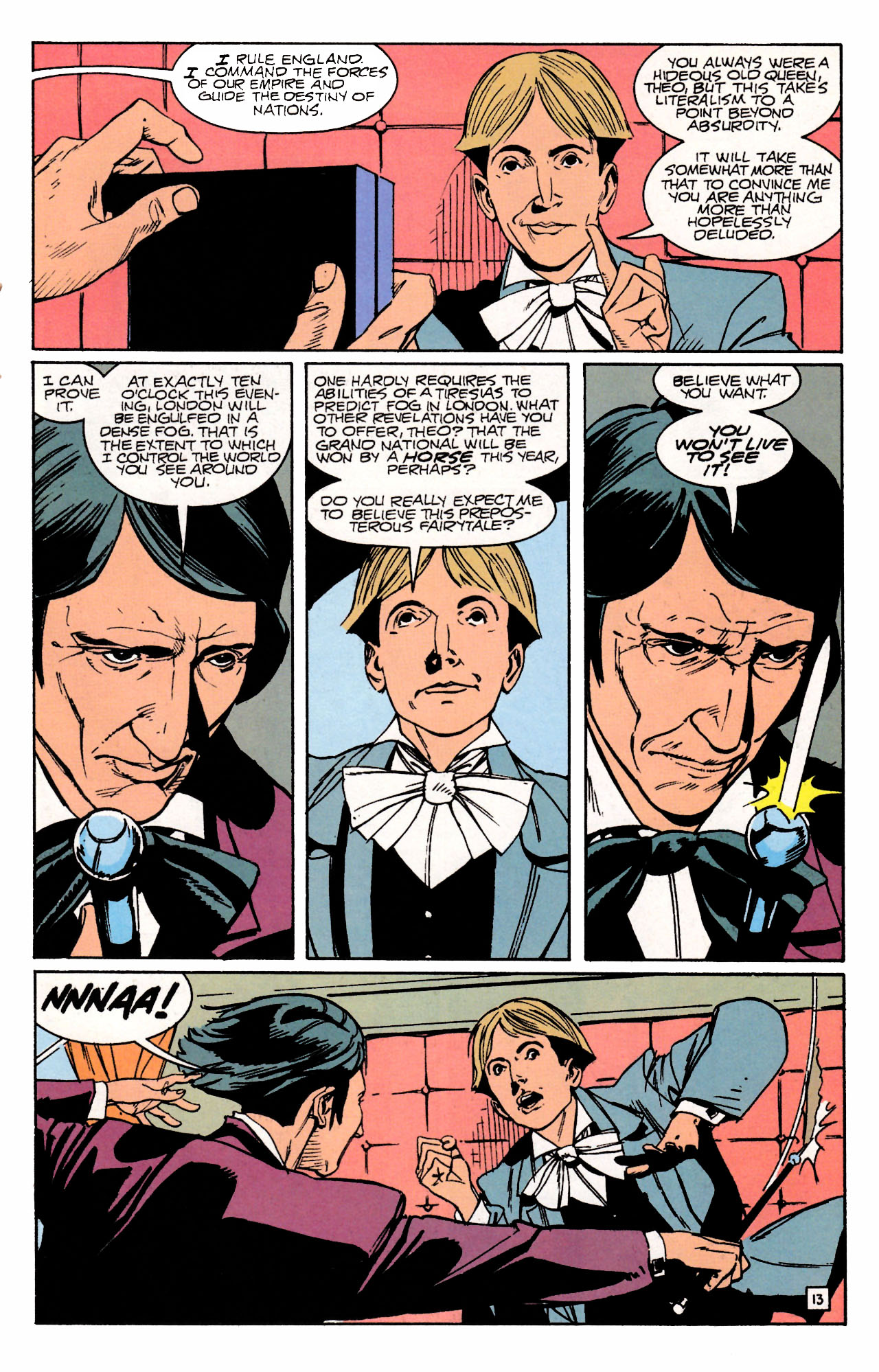Read online Sebastian O comic -  Issue #3 - 17