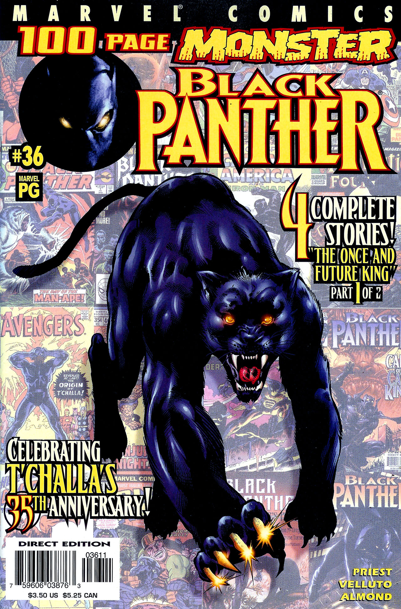 Black Panther (1998) 36 Page 1