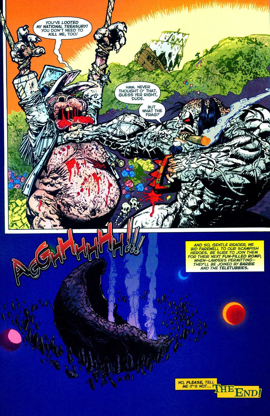 Read online The Authority/Lobo: Spring Break Massacre comic -  Issue # Full - 41