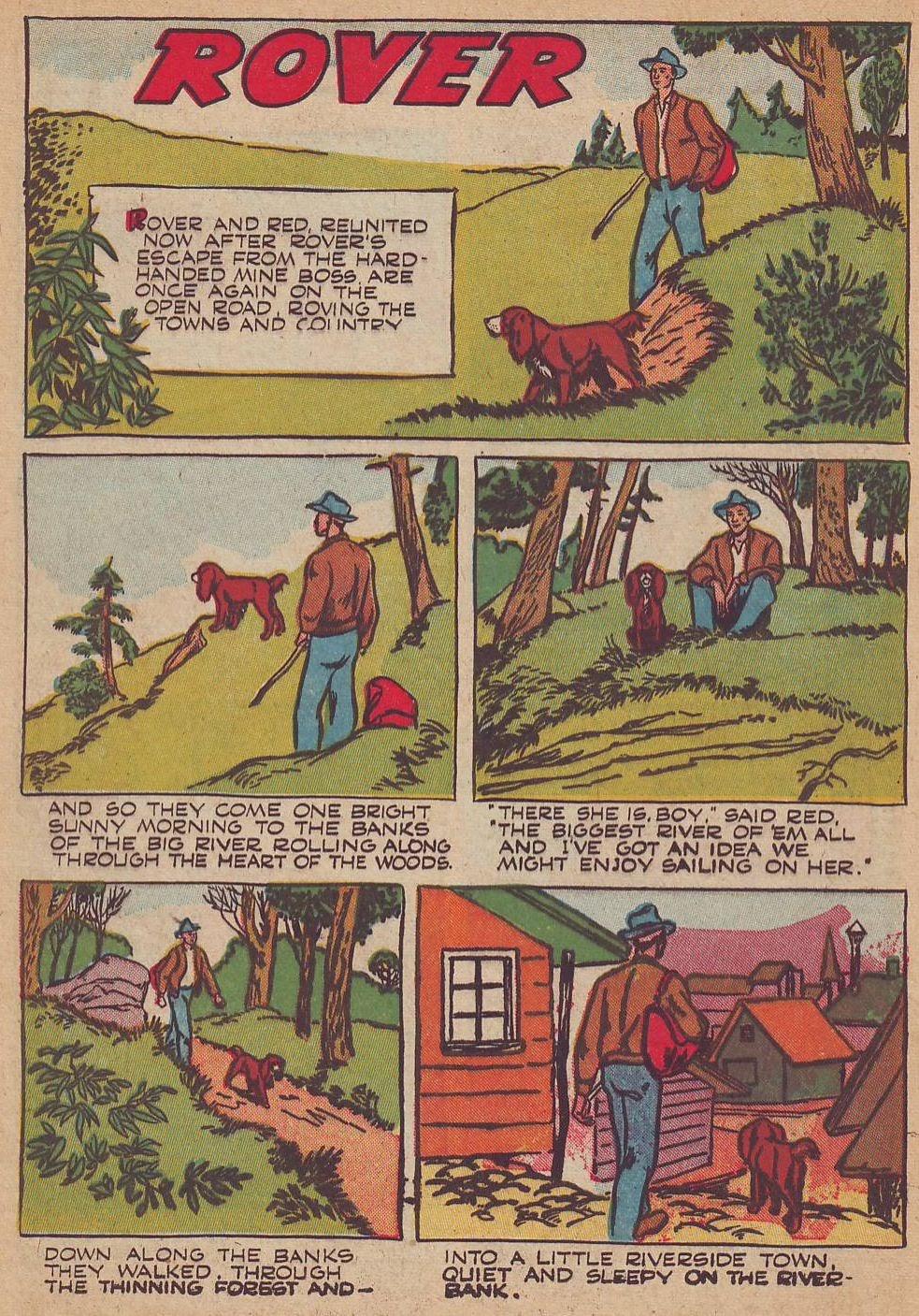Read online Animal Comics comic -  Issue #23 - 28