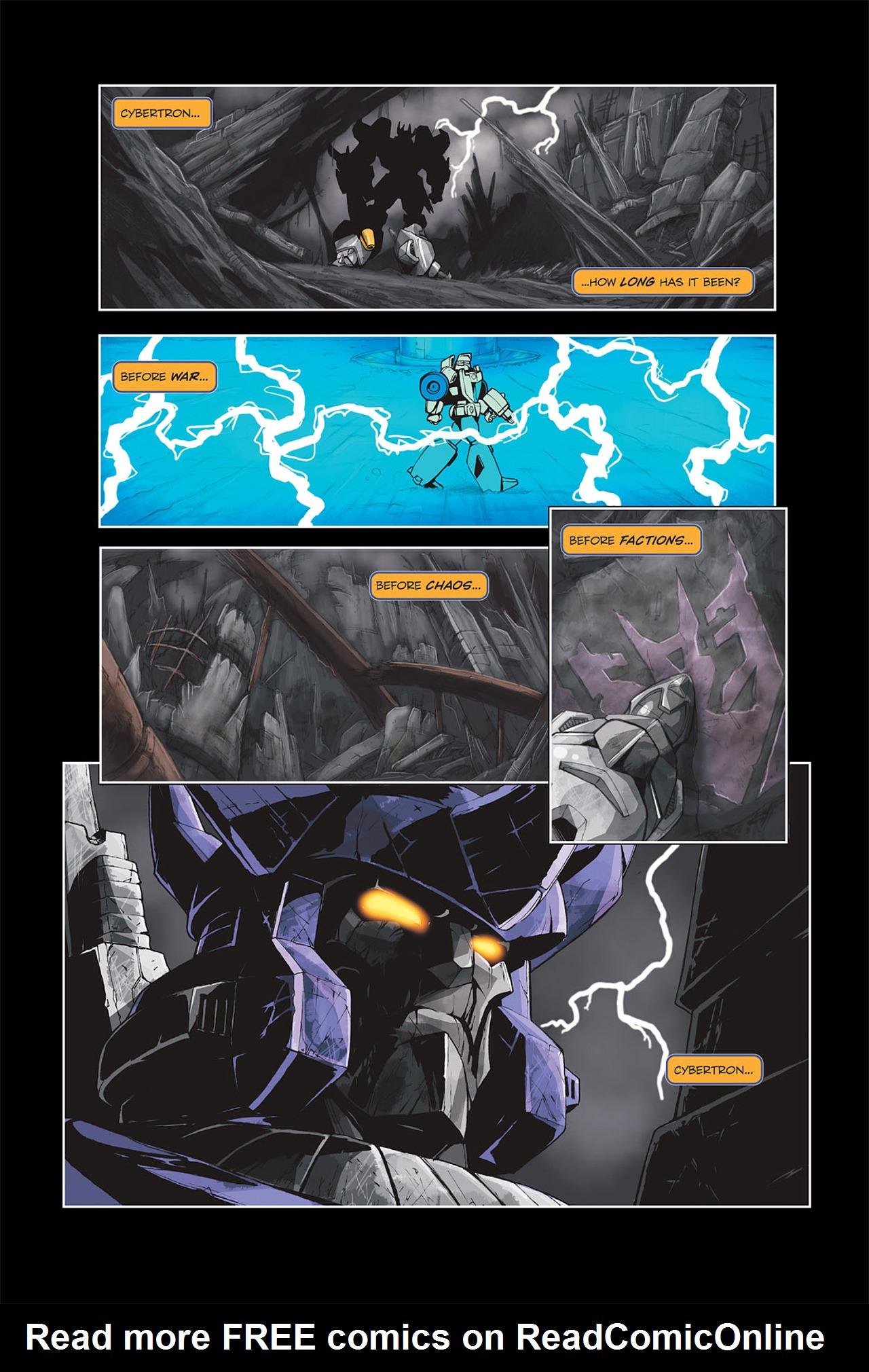 Read online Transformers Spotlight: Galvatron comic -  Issue # Full - 14