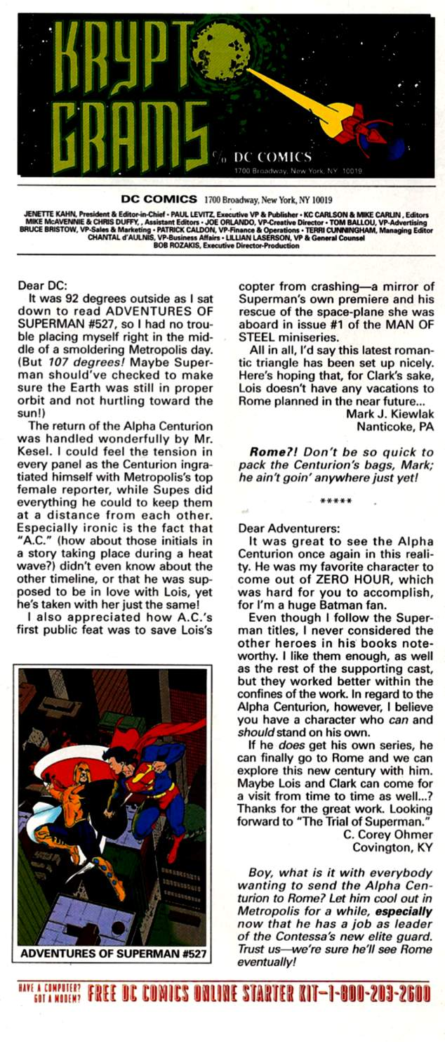 Read online Adventures of Superman (1987) comic -  Issue #531 - 24