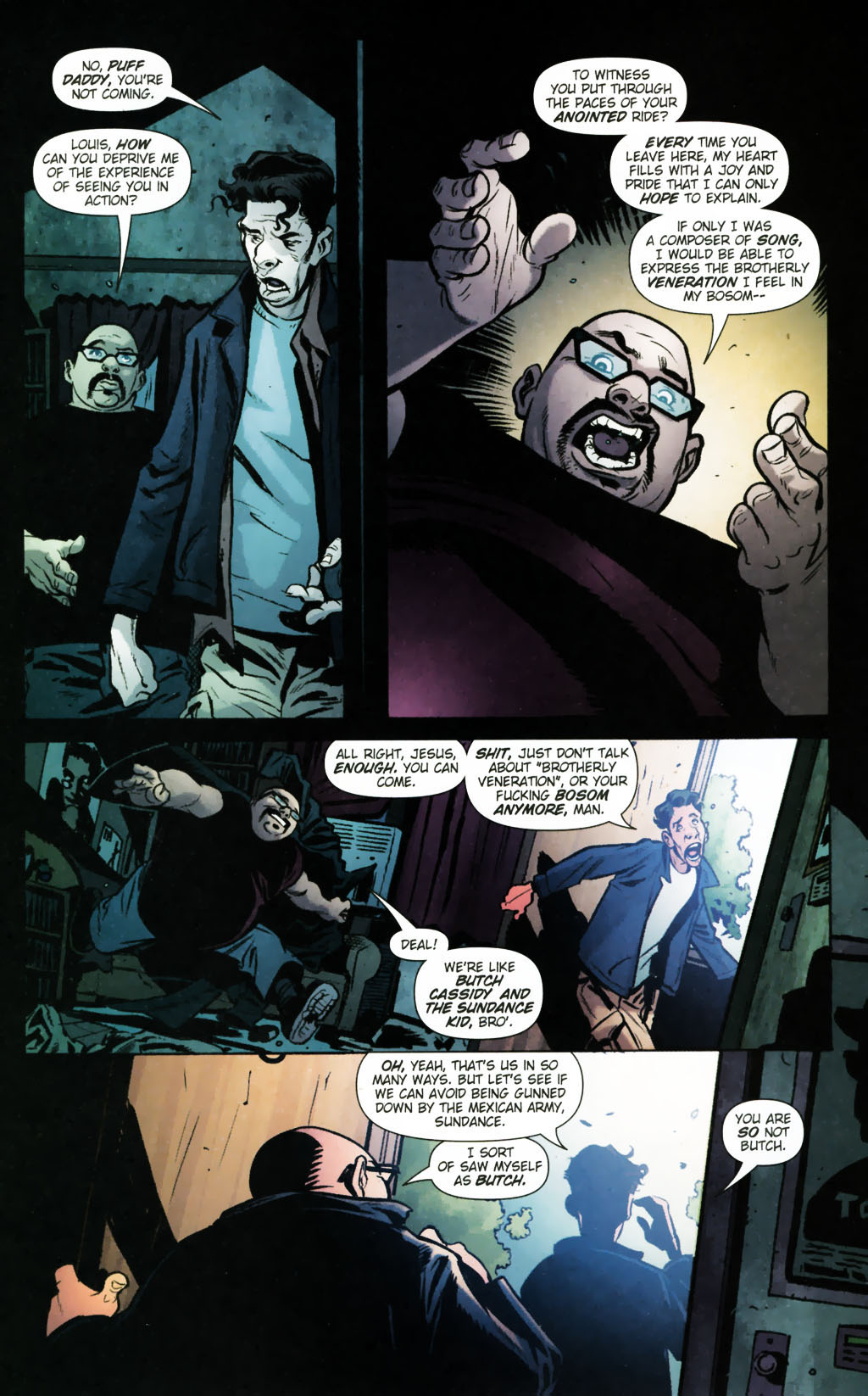 Read online Caper comic -  Issue #9 - 11