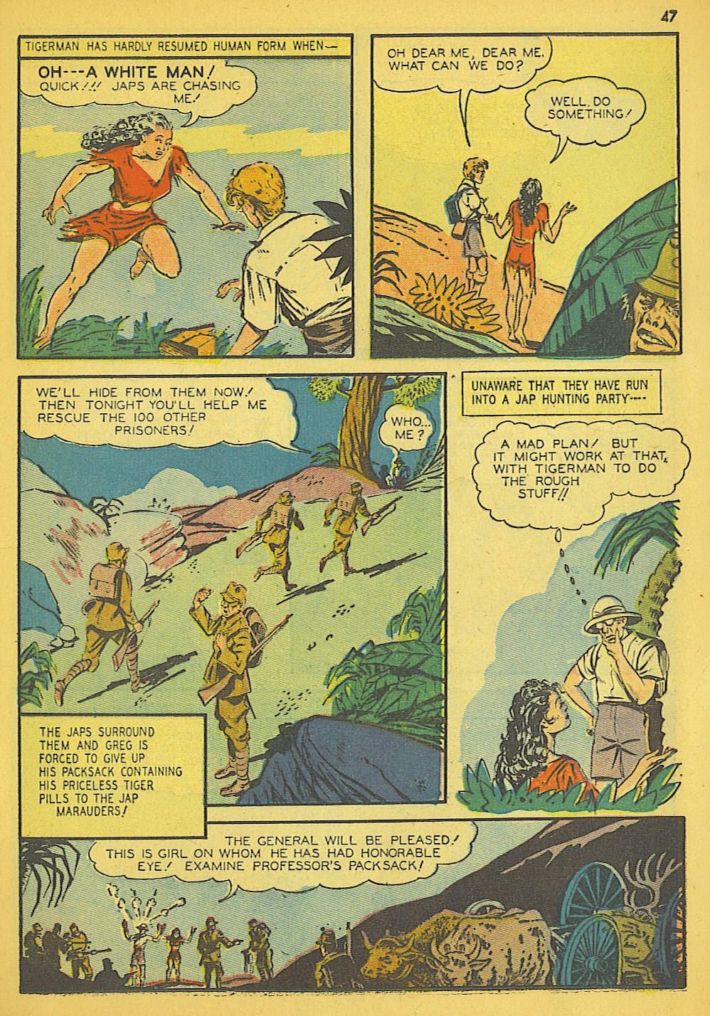 Read online Super-Magician Comics comic -  Issue #19 - 39