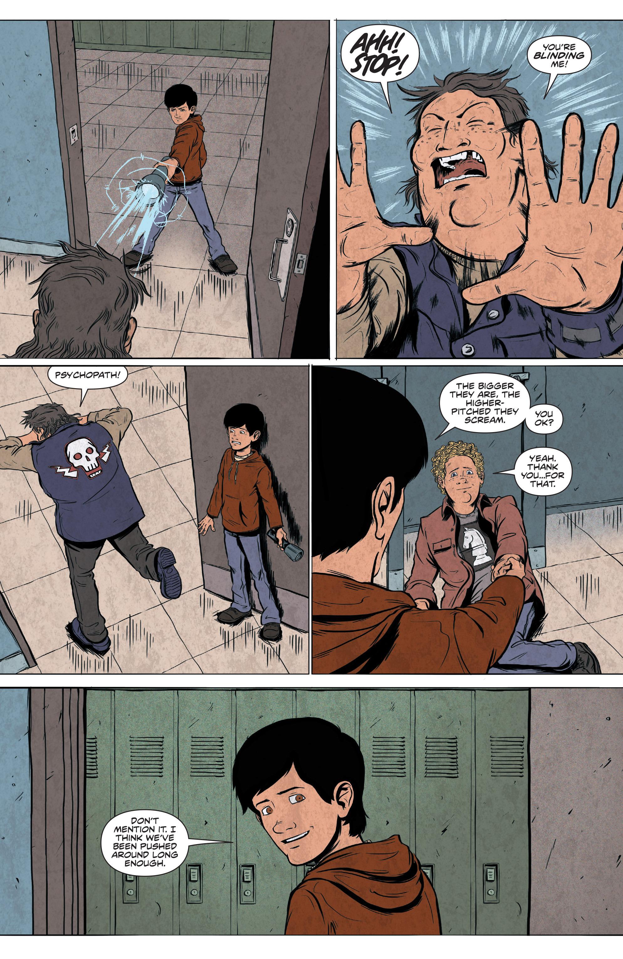 Read online Translucid comic -  Issue #4 - 10