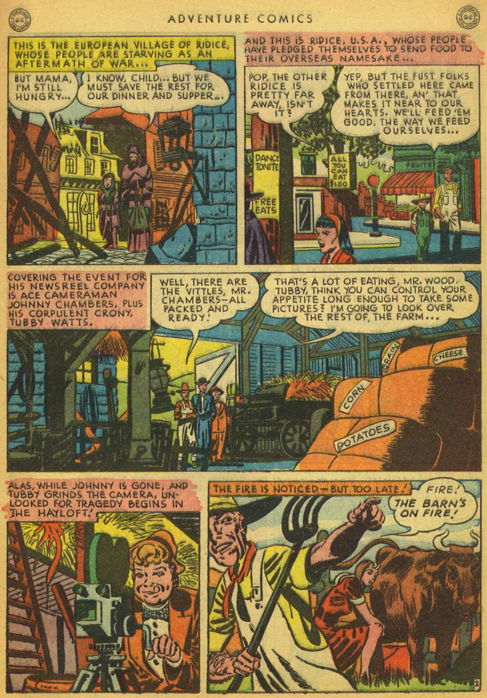 Read online Adventure Comics (1938) comic -  Issue #128 - 39