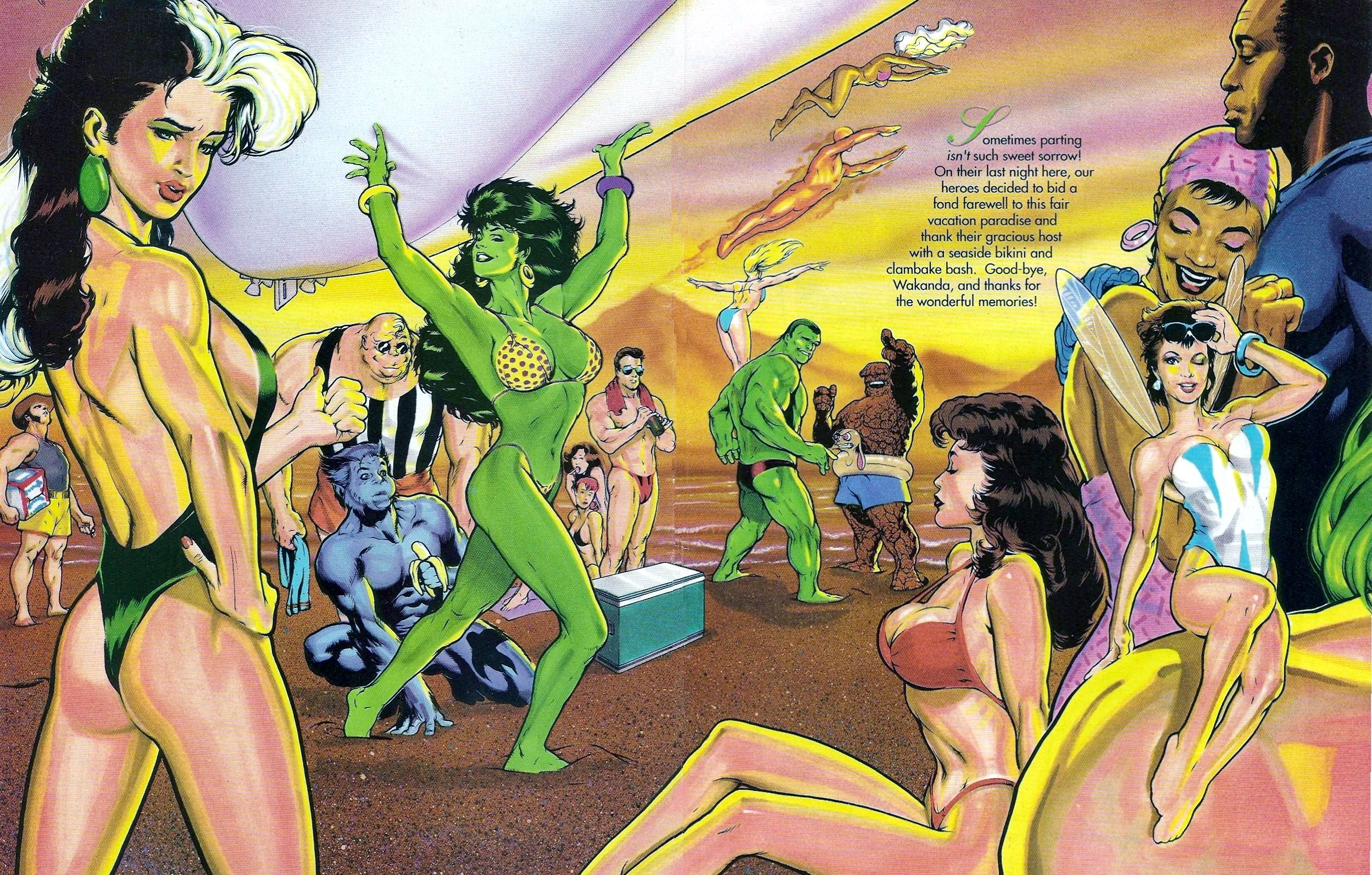 Read online Marvel Swimsuit Special comic -  Issue #1 - 42