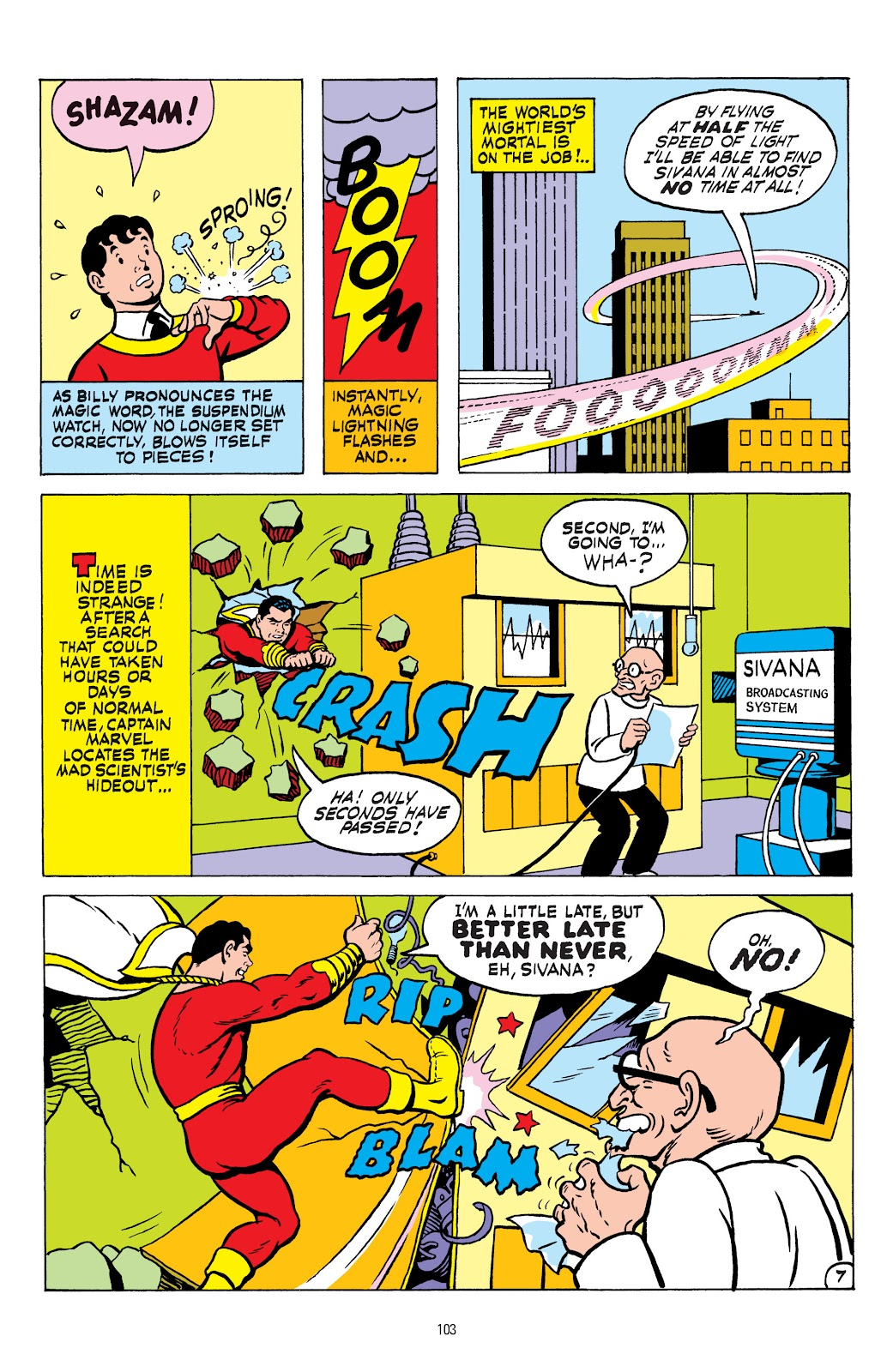 Shazam! (1973) issue TPB 1 (Part 2) - Page 1