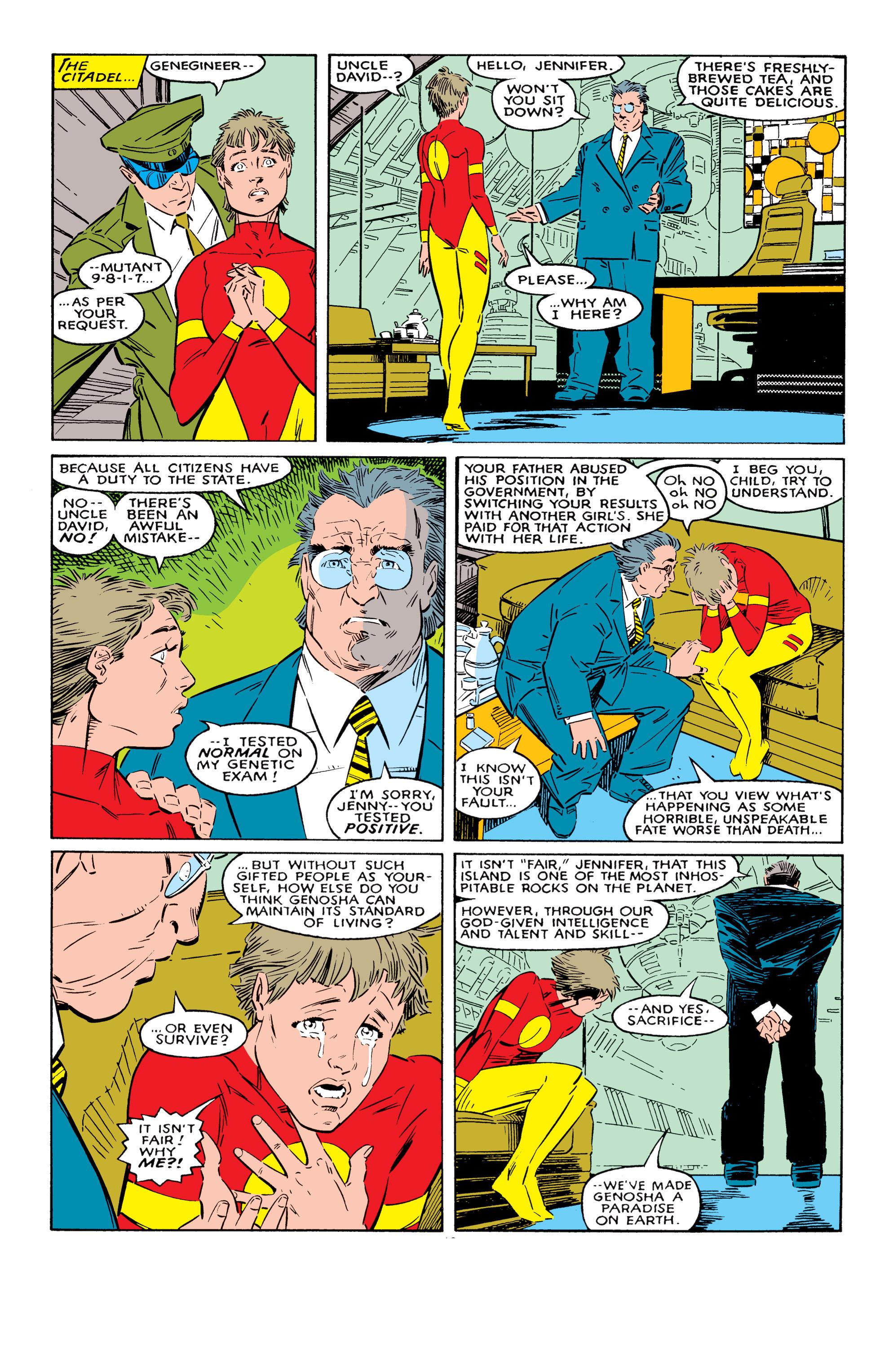 Read online Uncanny X-Men (1963) comic -  Issue #237 - 13