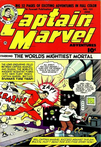 Captain Marvel Adventures 121 Page 1