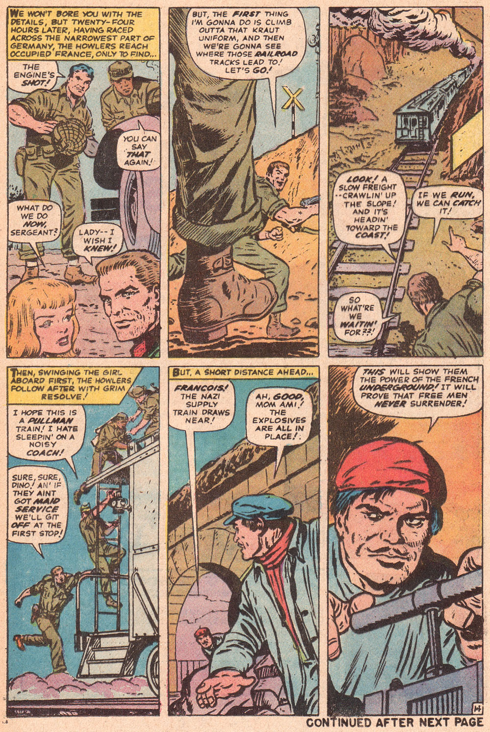 Read online Sgt. Fury comic -  Issue #80 - 21
