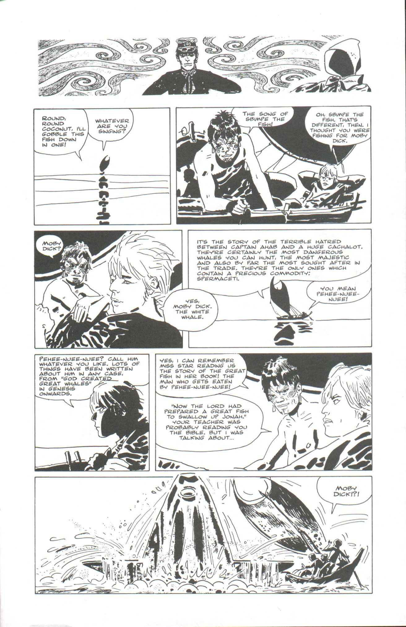 Read online Corto Maltese: Ballad of the Salt Sea comic -  Issue #2 - 25