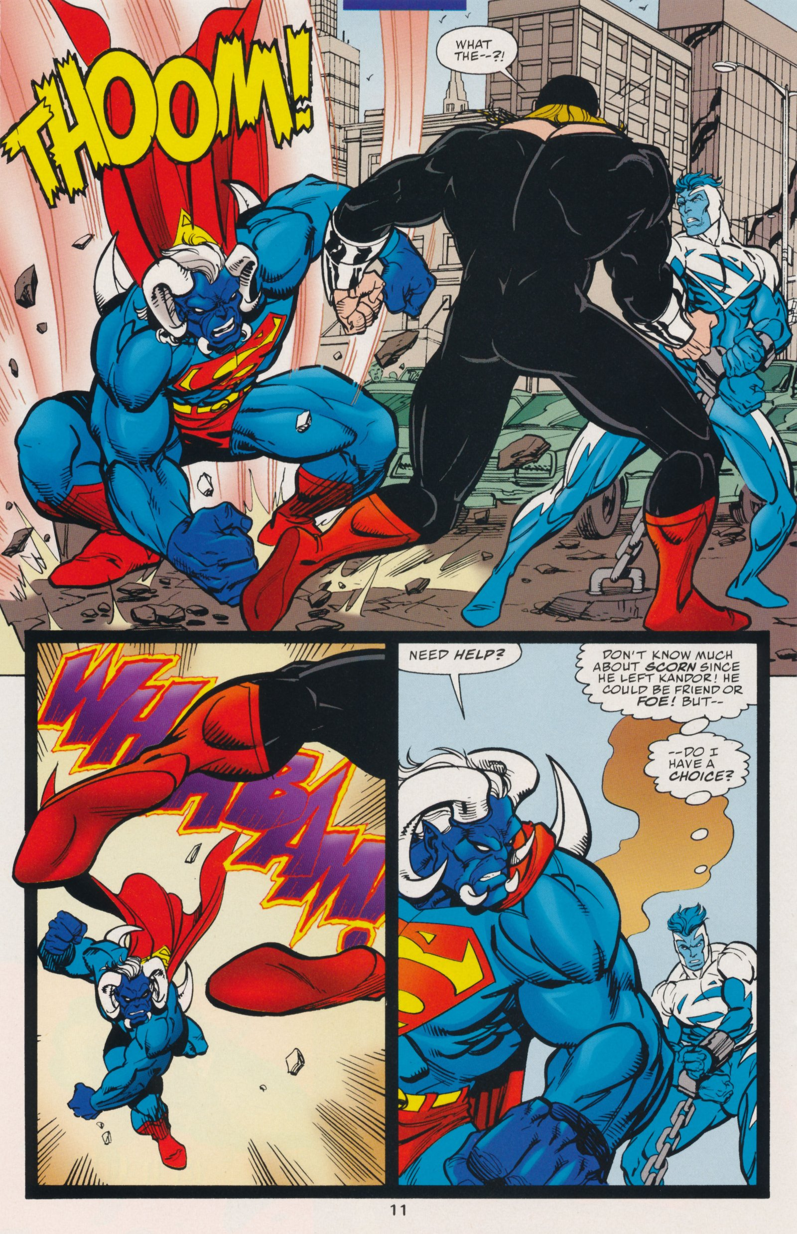 Read online Action Comics (1938) comic -  Issue #735 - 16