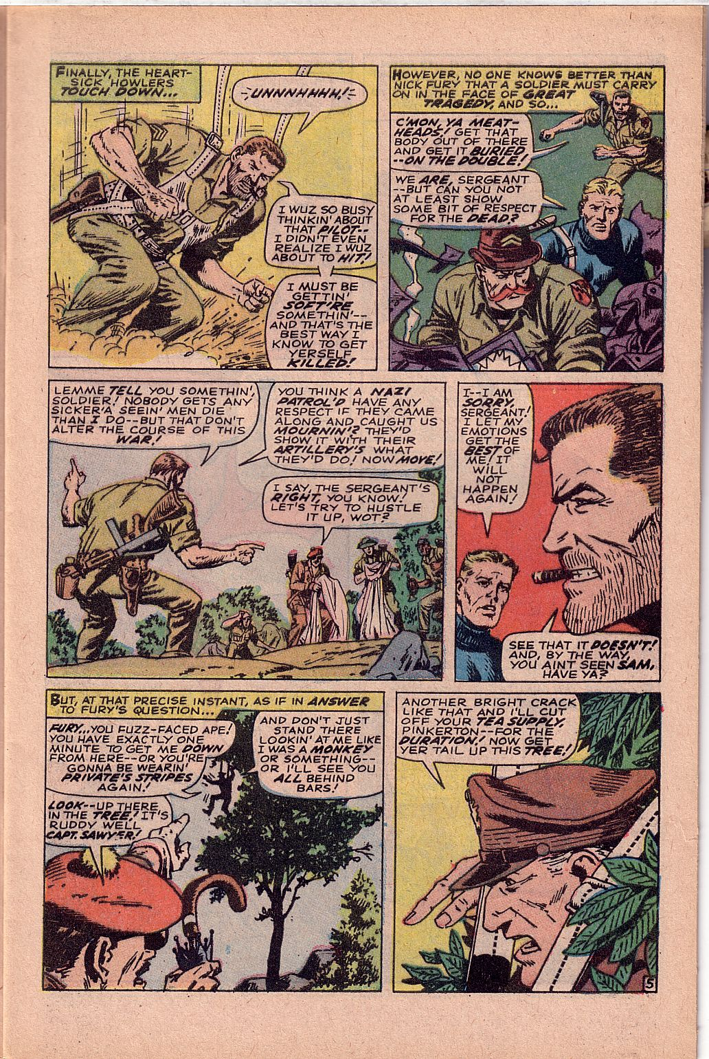 Read online Sgt. Fury comic -  Issue #52 - 9