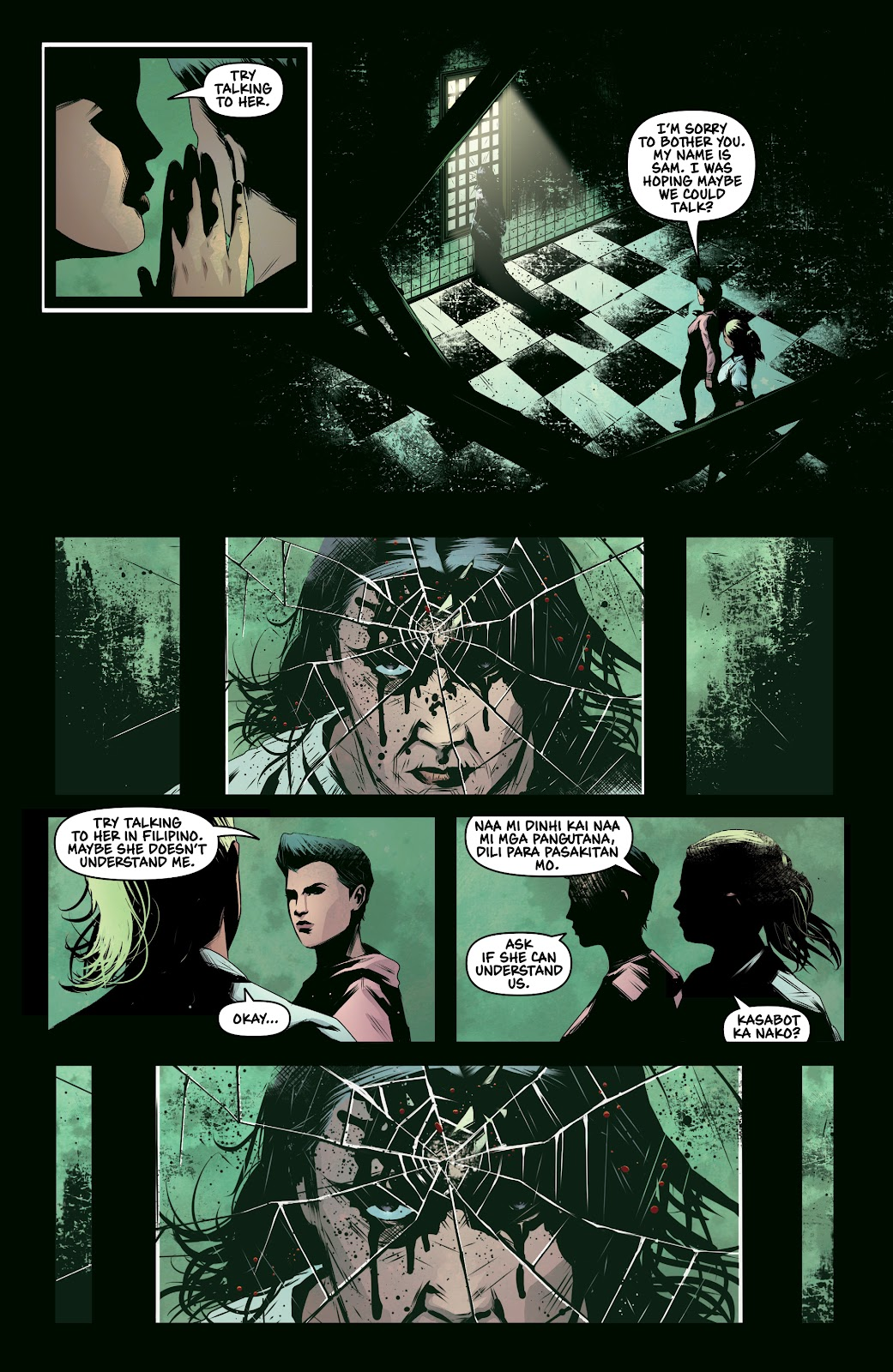 Read online Devil Within comic -  Issue #3 - 9