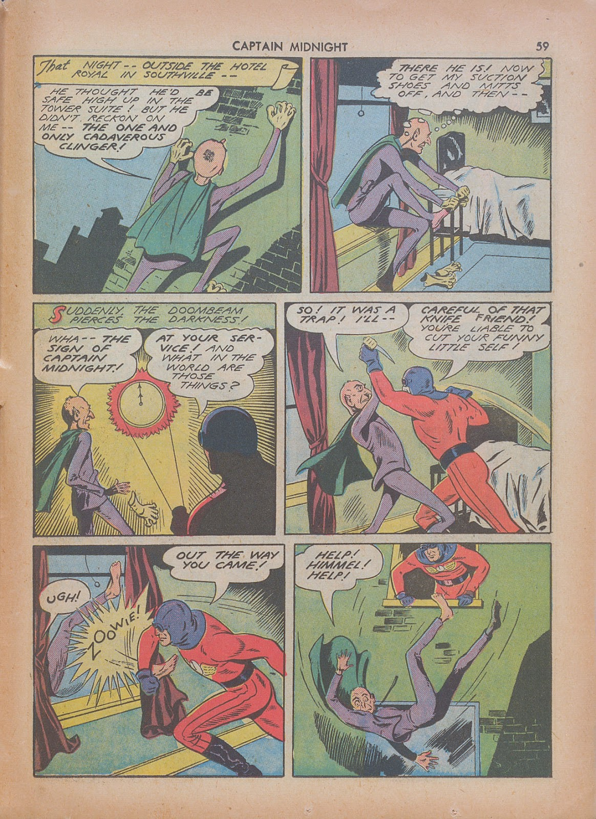 Captain Midnight (1942) issue 7 - Page 59