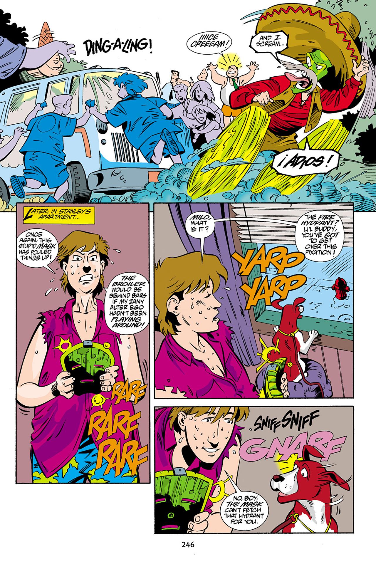 Read online Adventures Of The Mask Omnibus comic -  Issue #Adventures Of The Mask Omnibus Full - 245