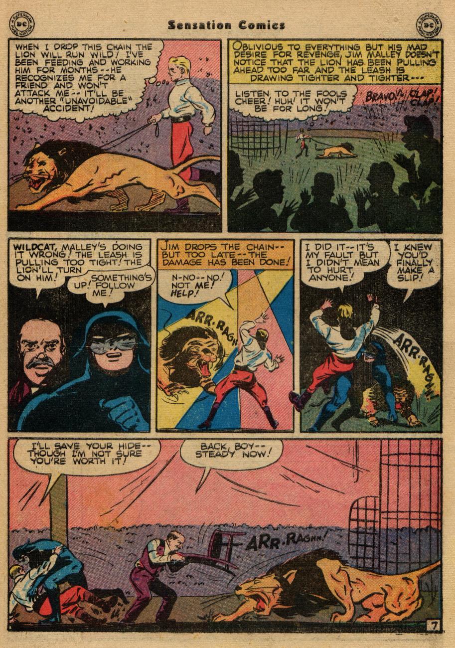 Read online Sensation (Mystery) Comics comic -  Issue #61 - 47